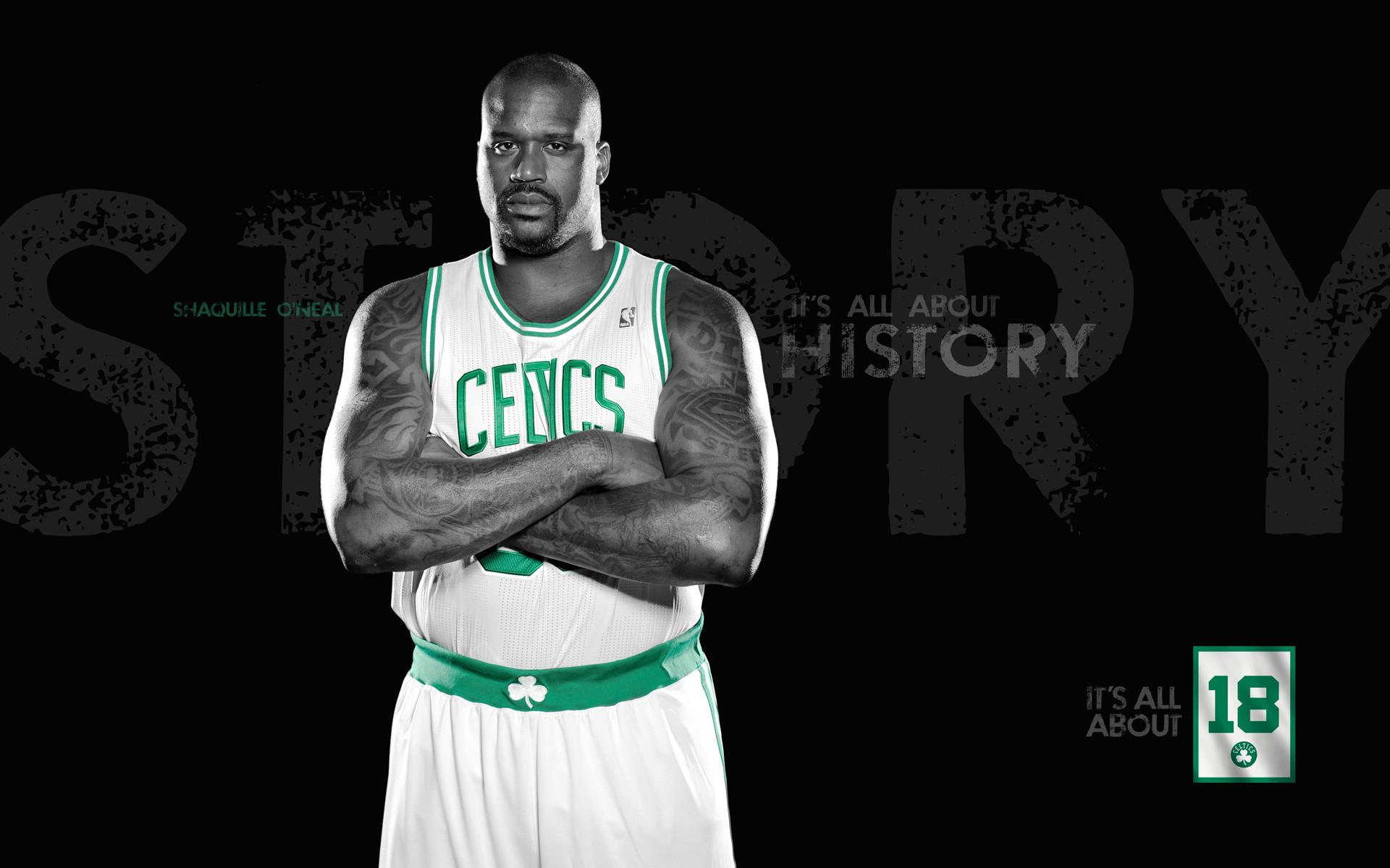 Jermaine O'Neal, Celtics Wallpaper