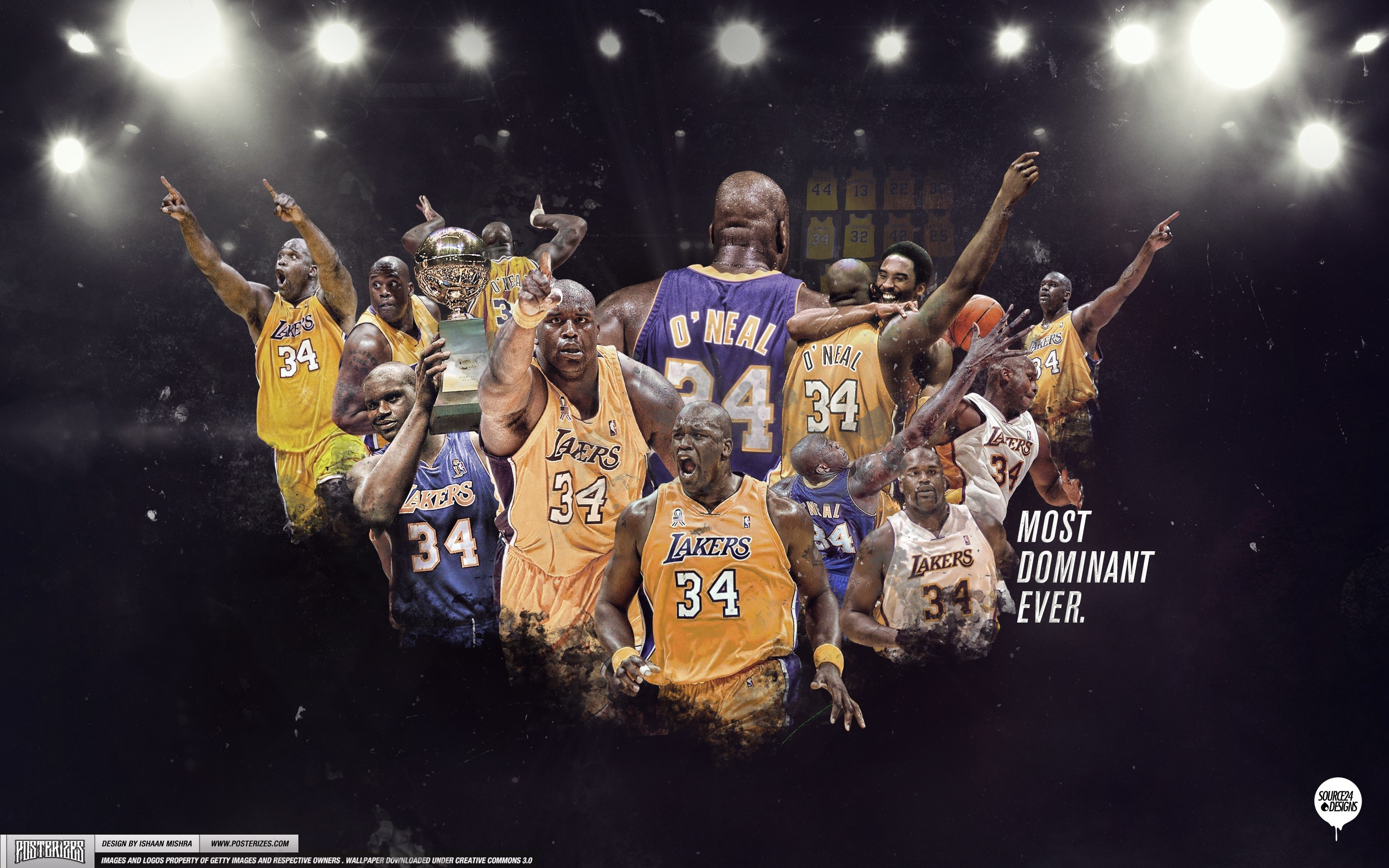 Shaquille O'neal Lakers Wallpaper – Live Wallpaper HD