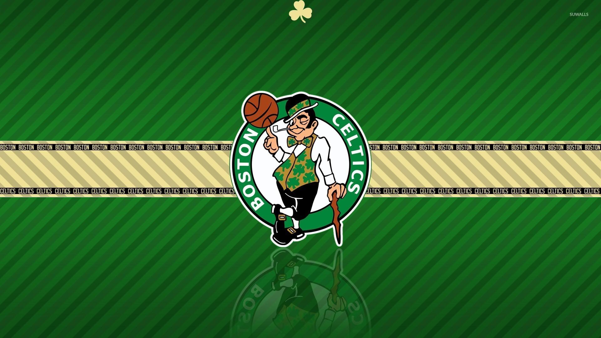 Boston Celtics logo wallpaper jpg