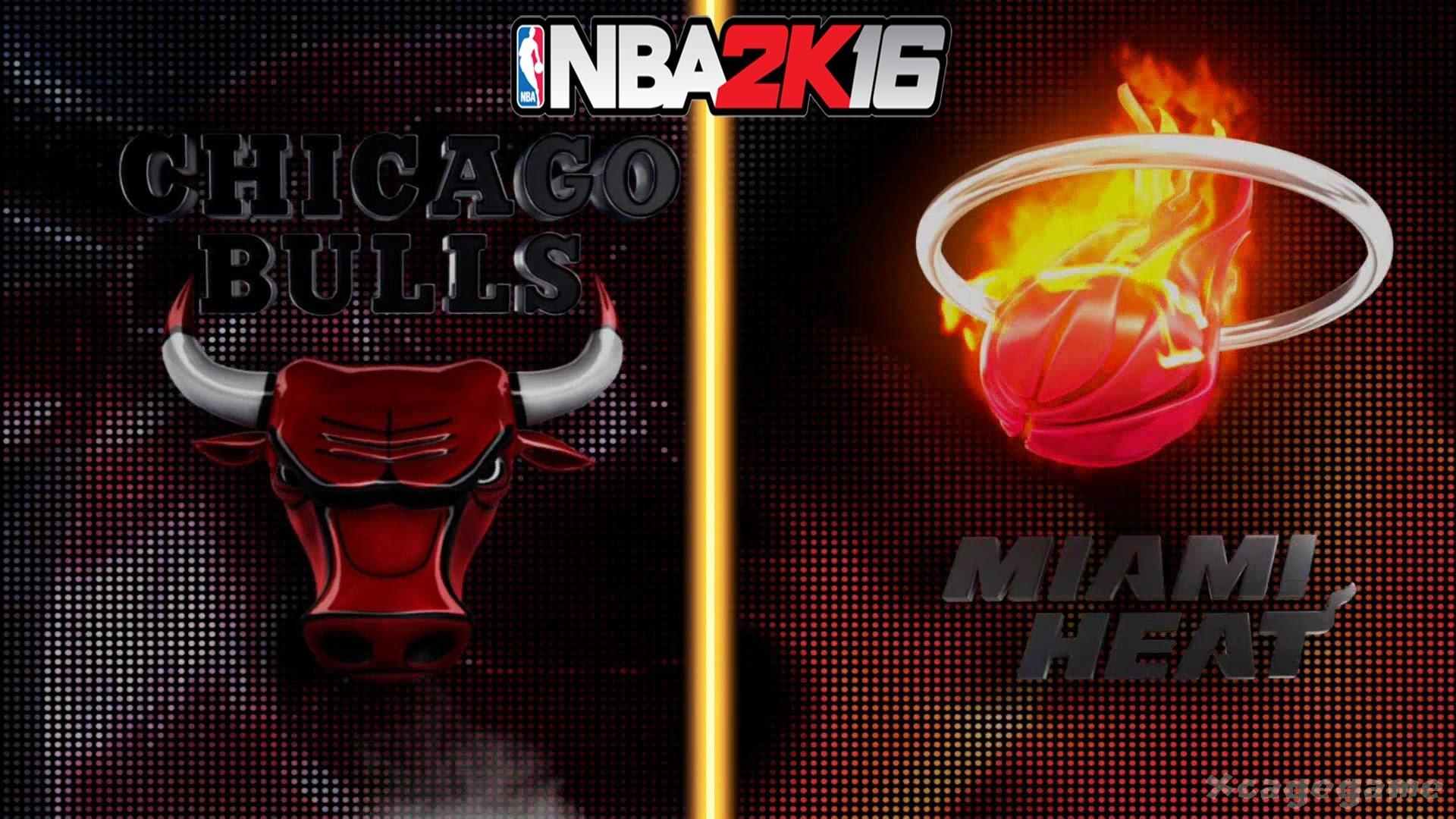 NBA 2K16 Gameplay – Chicago Bulls vs Miami Heat – Full Game [ HD ] – YouTube