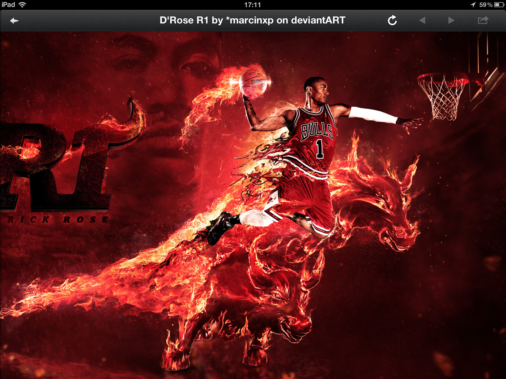 Derrick Rose Bulls HD Wallpaper For Macs with ID 2566 on Sports category in  Amazing Wallpaperz. Derrick Rose Bulls HD Wallpaper For Macs is one from  many …