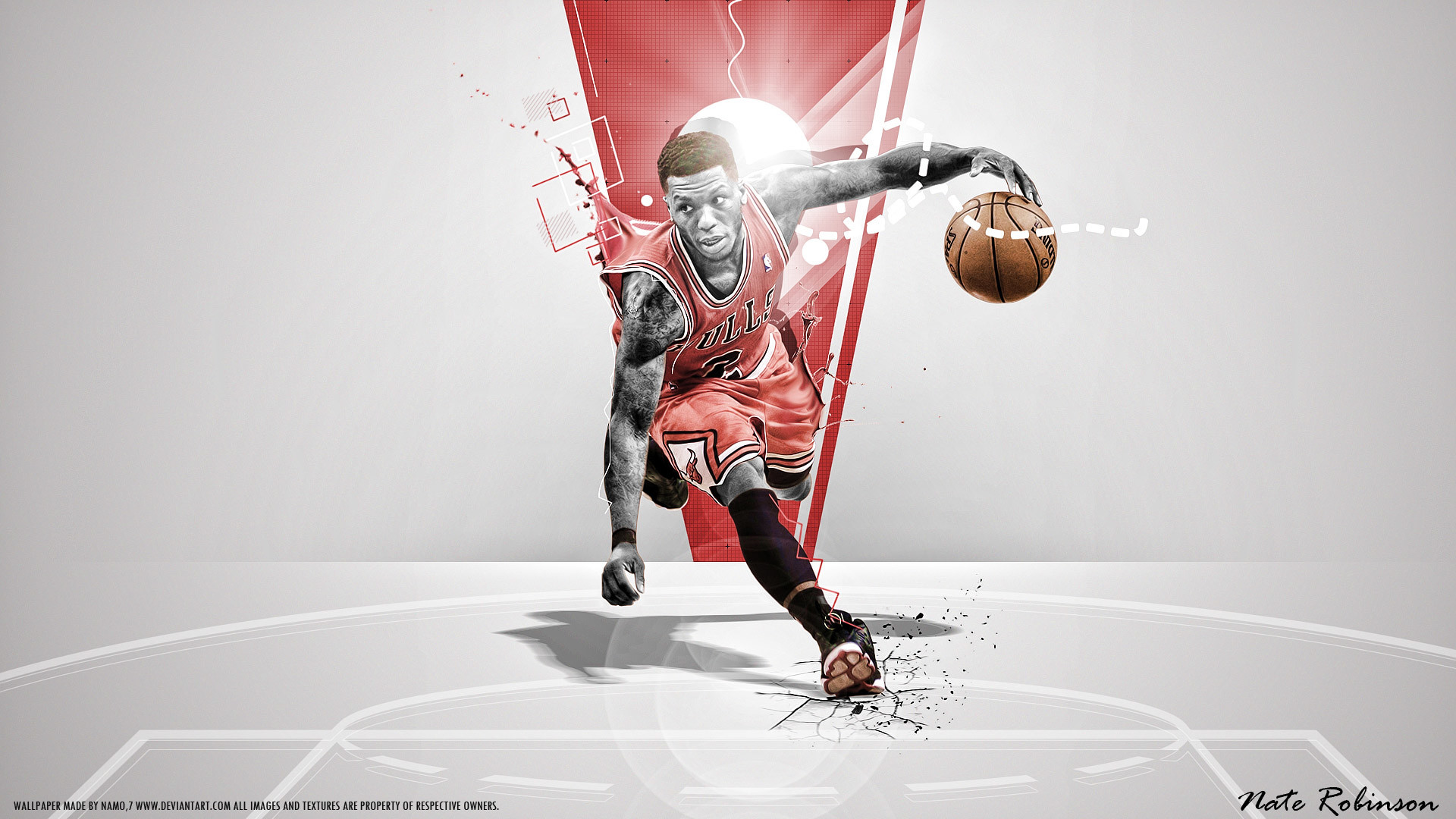 """Search Results for """"chicago bulls nate robinson wallpaper"""" – Adorable  Wallpapers"""