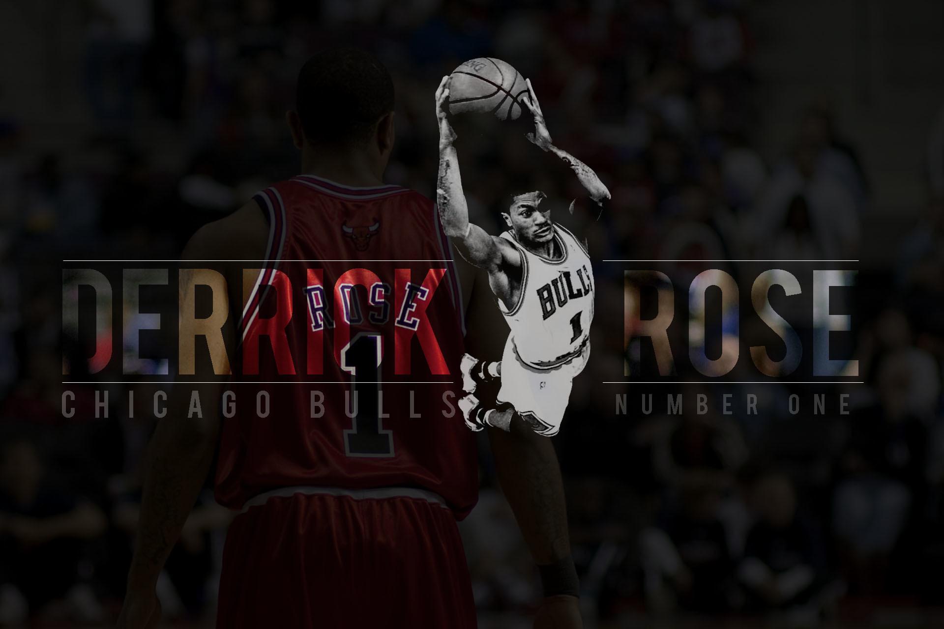 Derrick Rose Background Desktop Wallpaper.