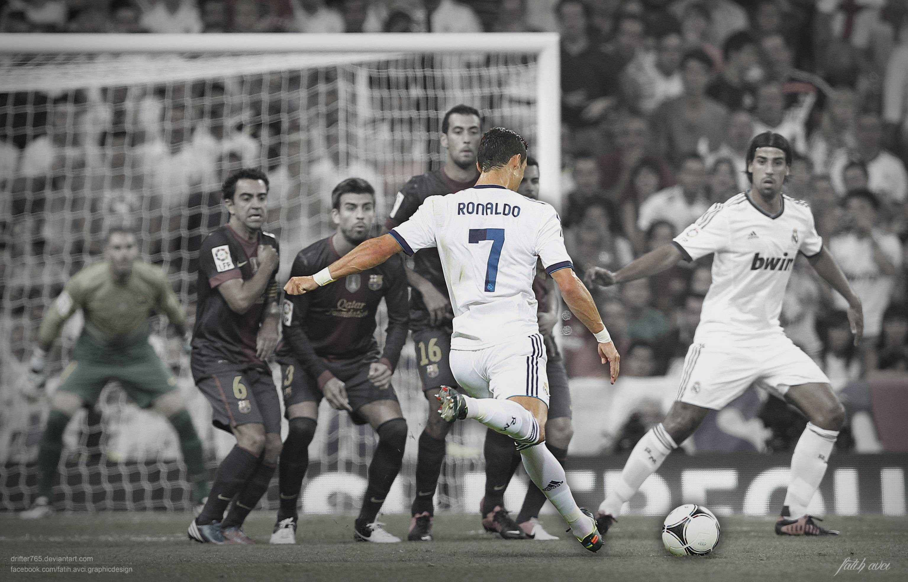 Cristiano Ronaldo Free Kick Wallpaper   HD Wallpapers