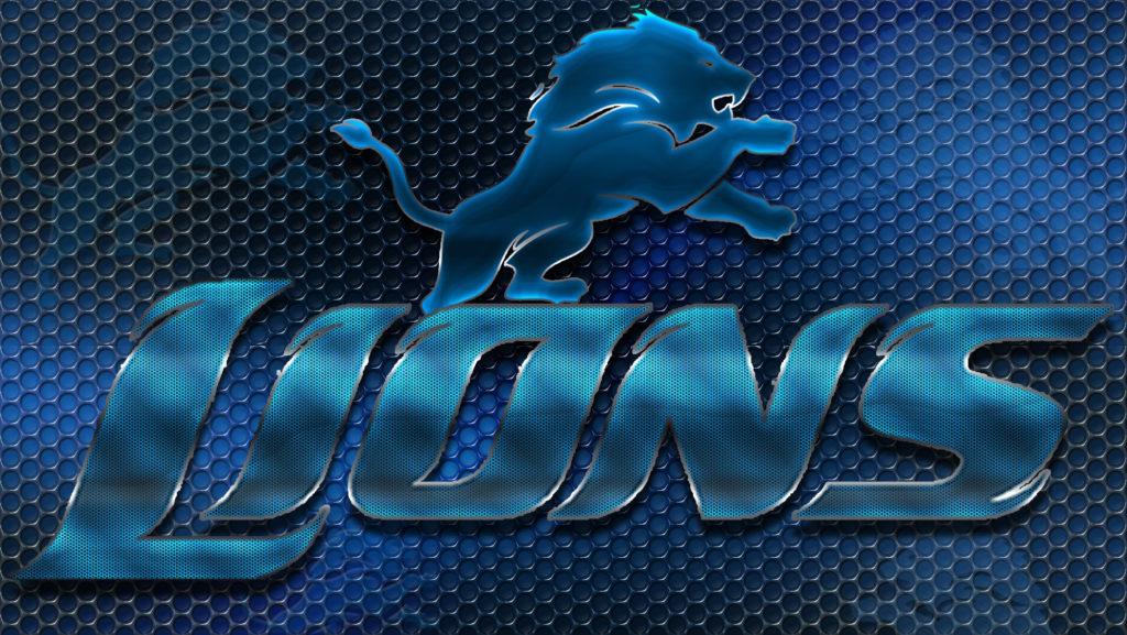 Detroit Lions Heavy Metal 16×9 Text N Logo Wallpaper – Detroit Lions .