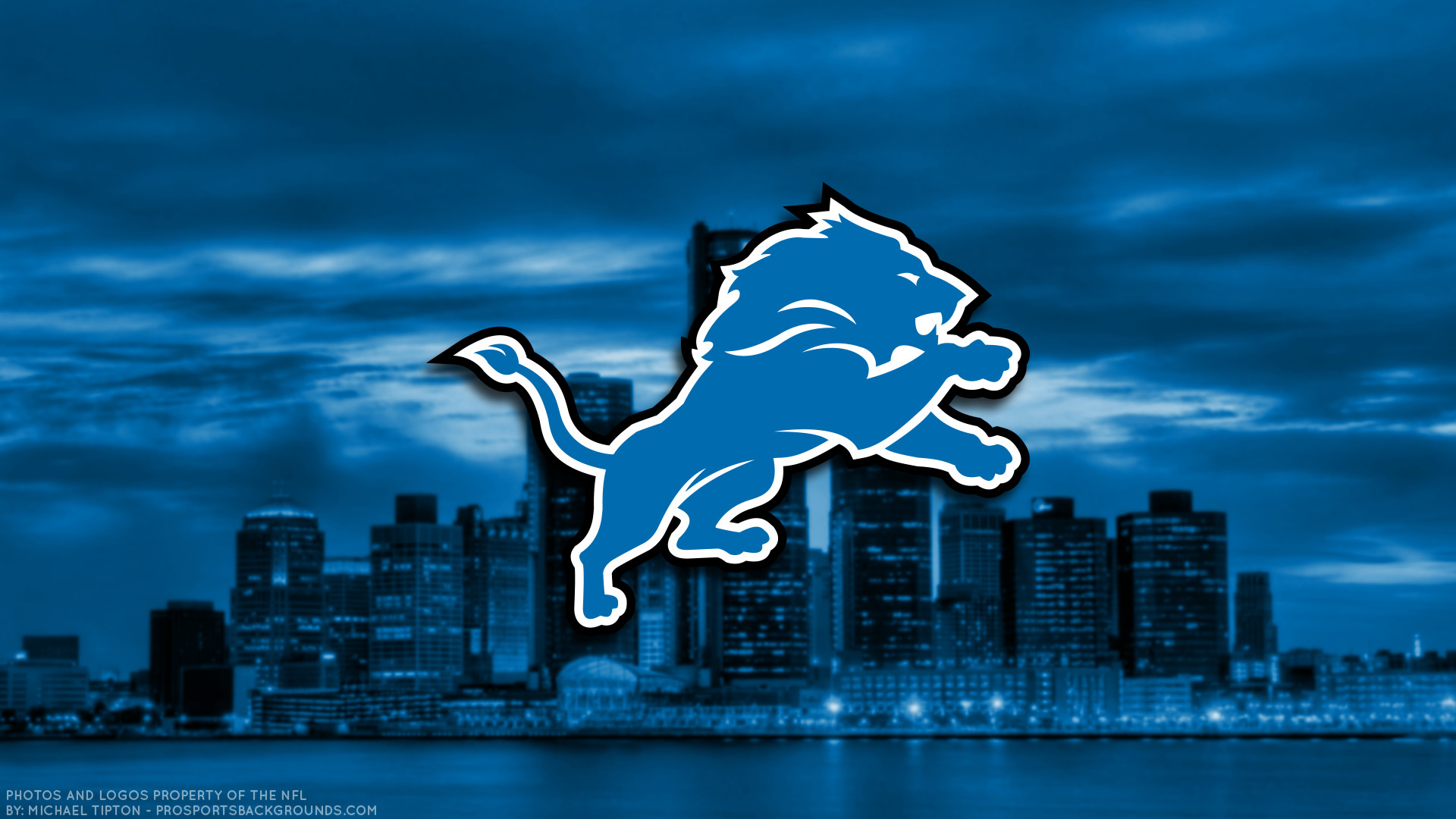 … Detroit Lions 2017 football logo wallpaper pc desktop computer