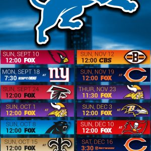 Detroit Lions Screensavers and Wallpaper