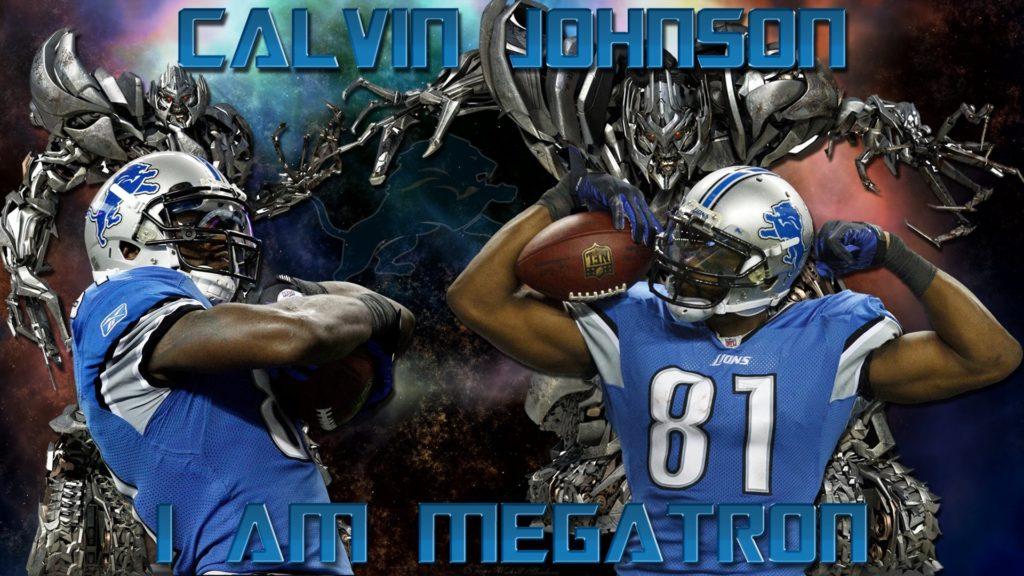 Calvin Johnson Megatron 799177; detroit lions 758109