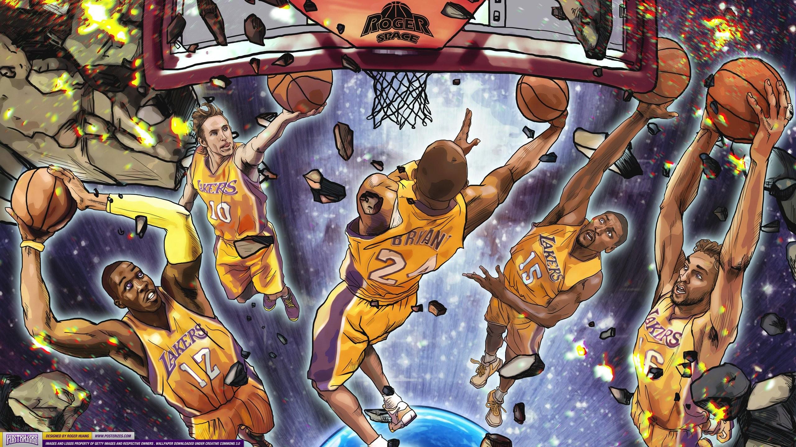 128+ NBA Cartoon