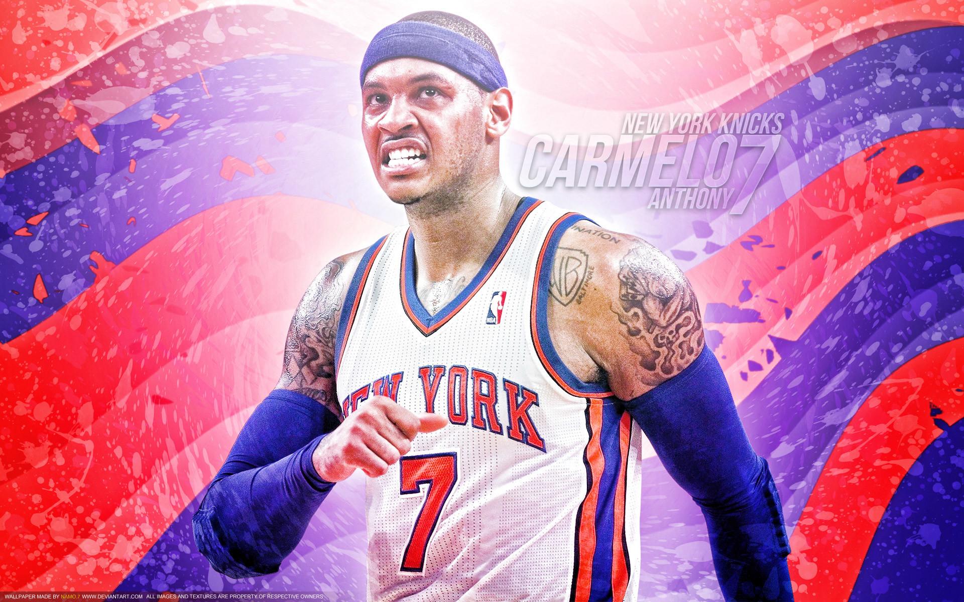 Carmelo Anthony New York Knicks Wallpaper