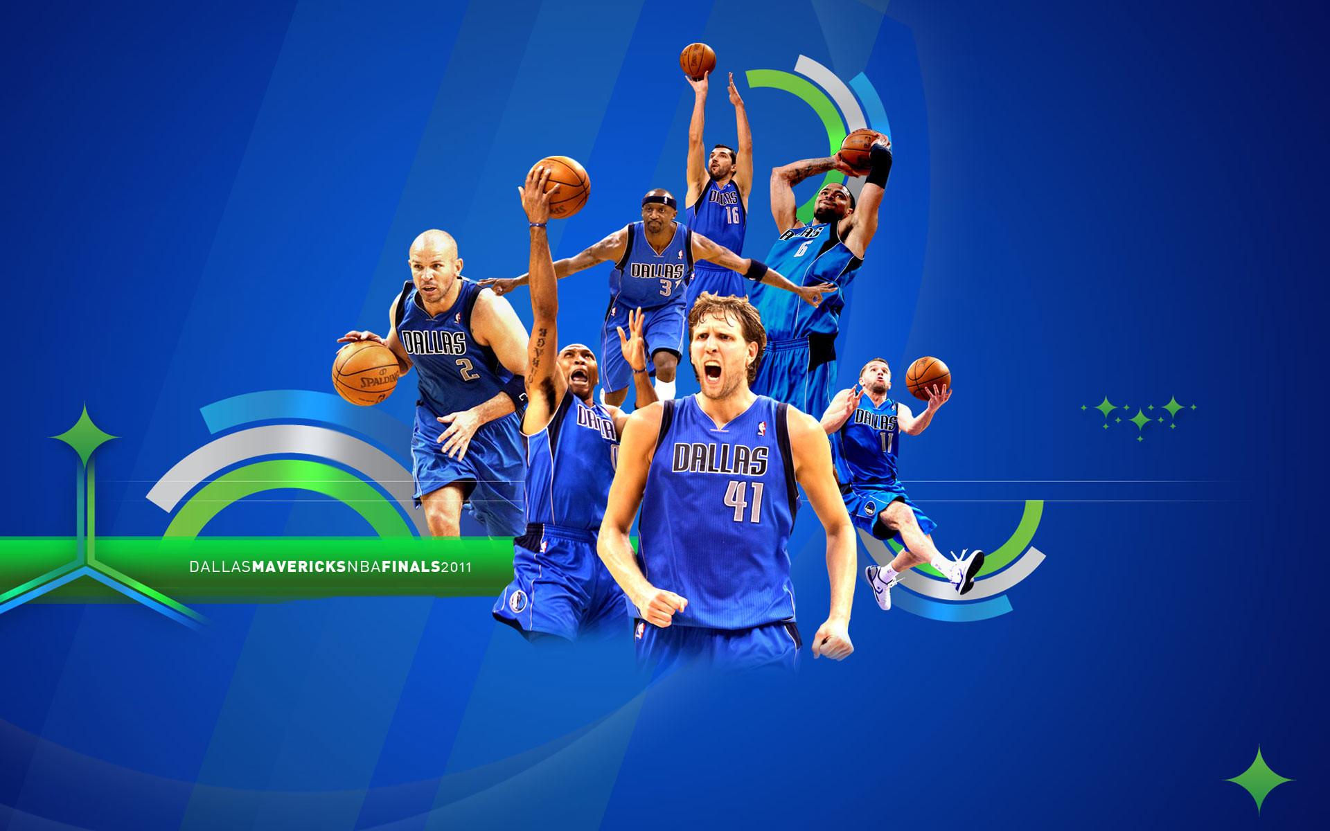 Dallas Mavericks 2011 NBA Finals Widescreen Wallpaper