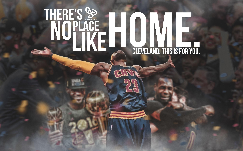 LeBron James NBA Title Celebration 2016 Wallpaper