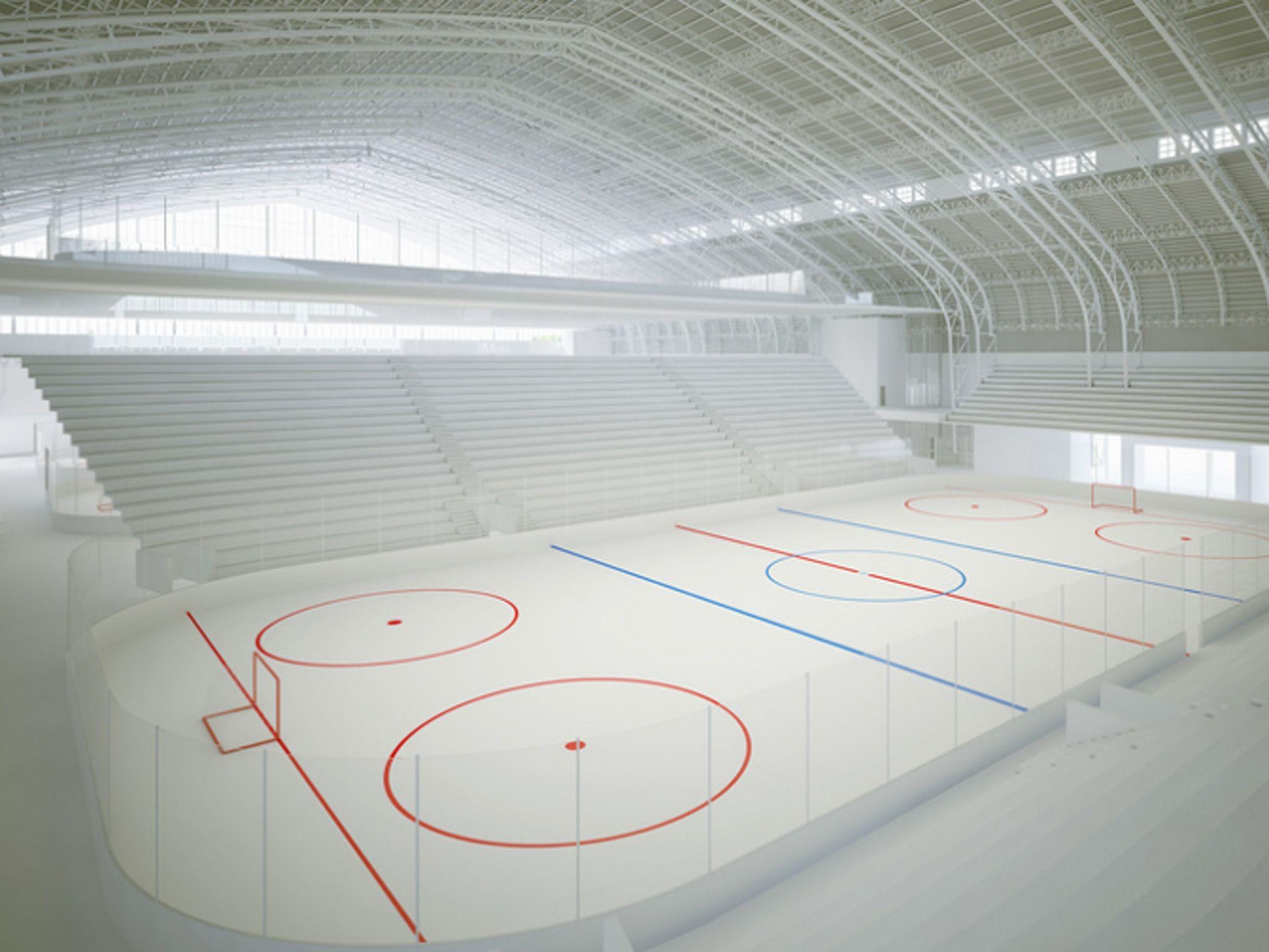 Bronx armory to become ice hockey, skating rinks .