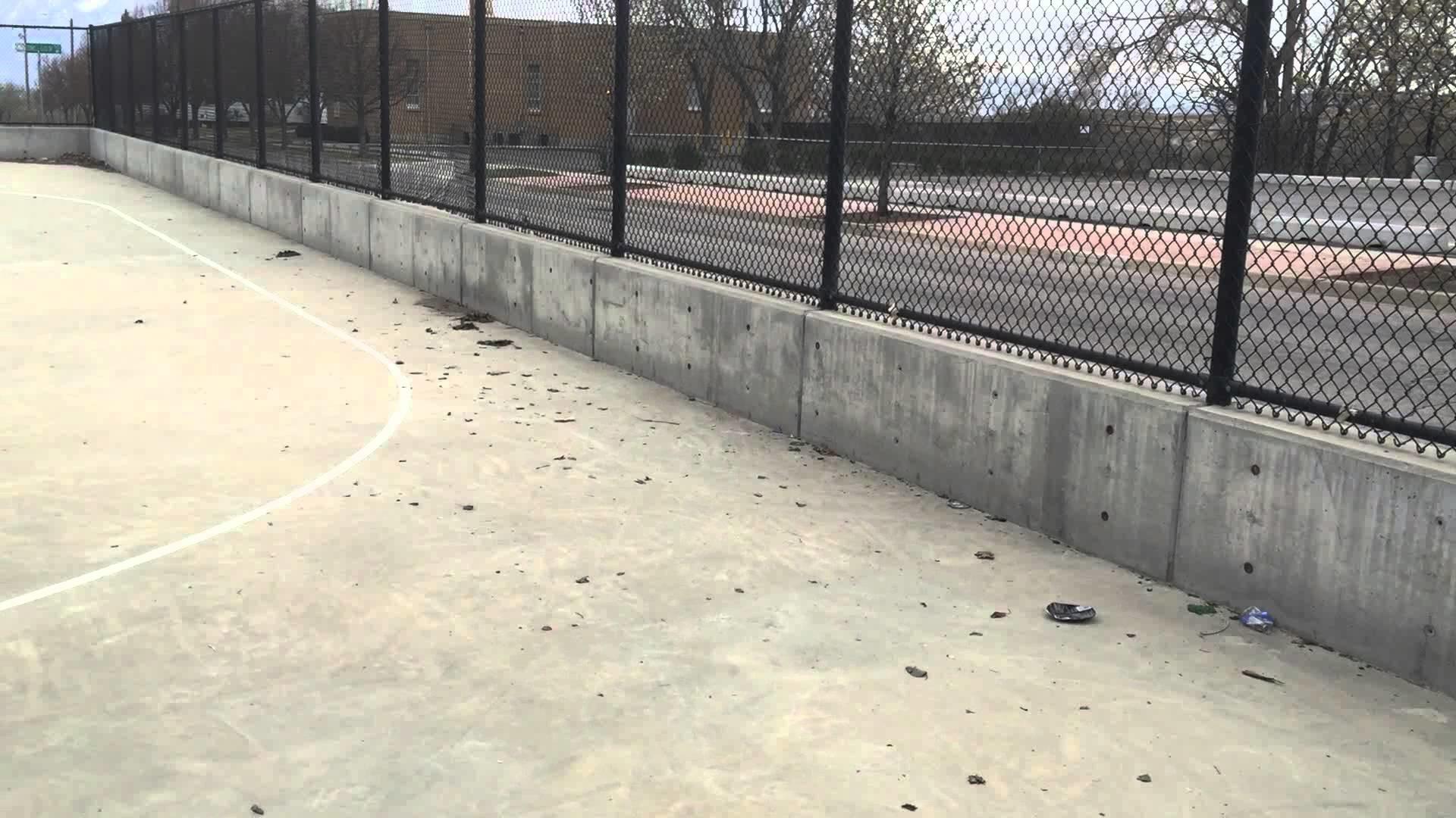 Outdoor Roller Hockey Rink in the Salt Lake Valley (Copperton, UT)