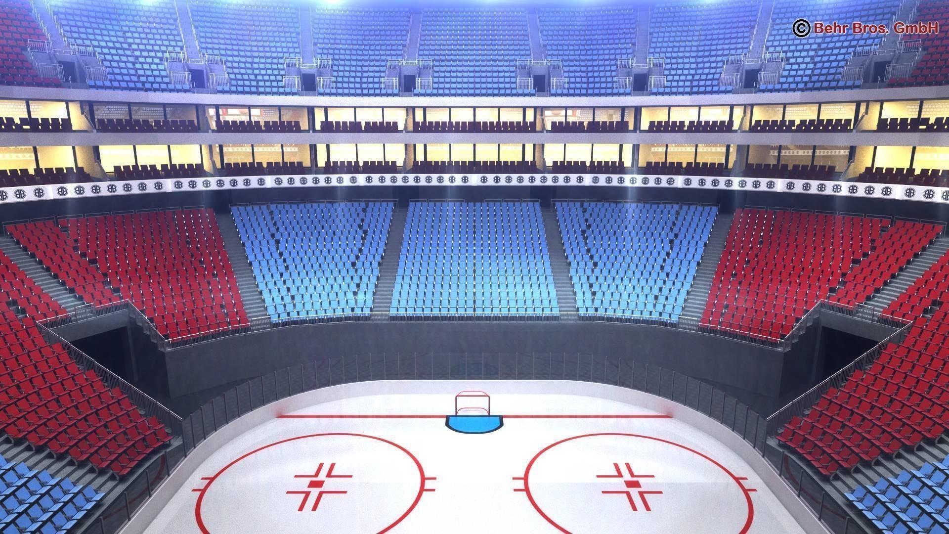 … ice hockey arena v2 3d model max obj 3ds fbx c4d lwo lw lws 7 …