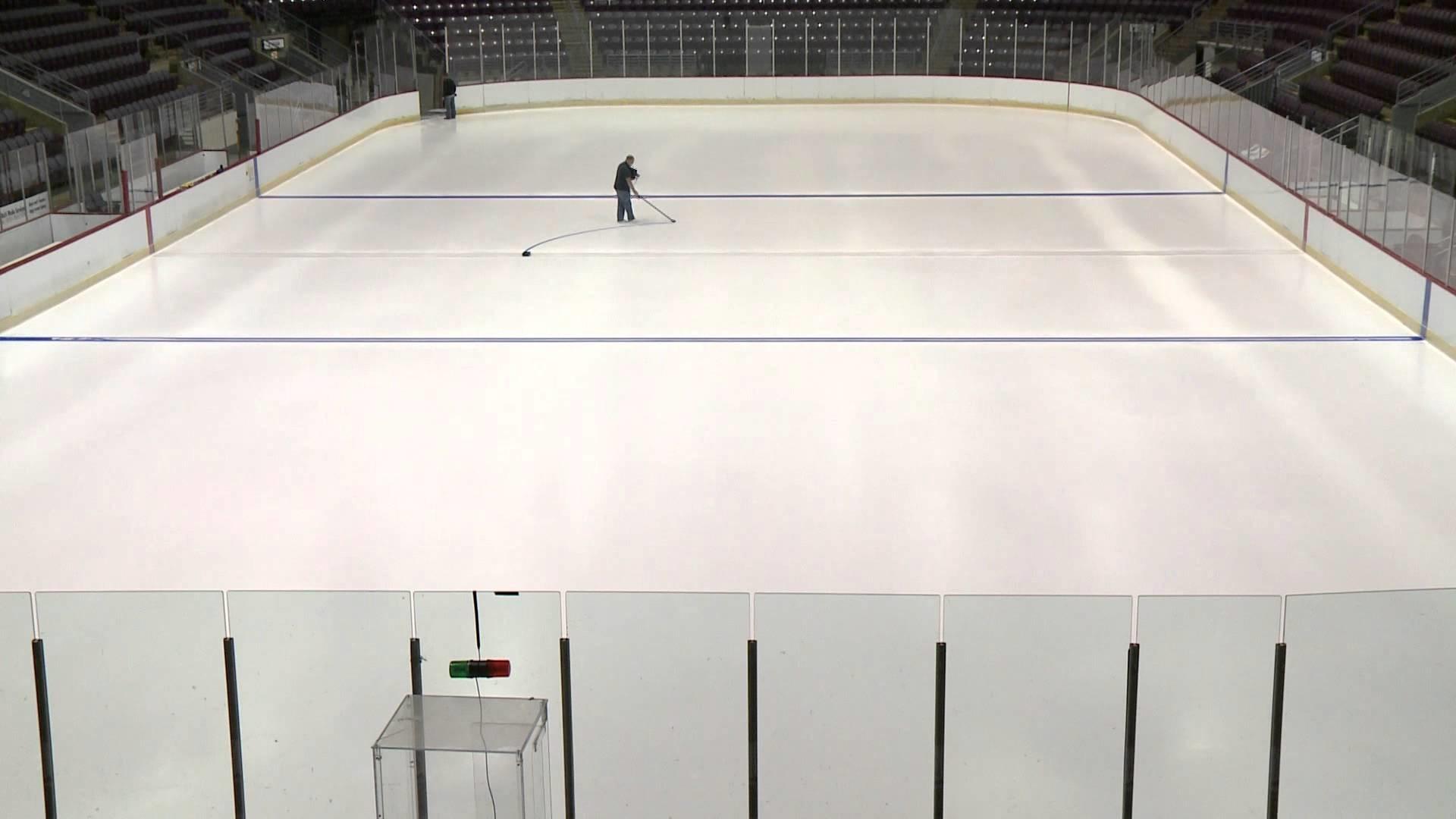 Jackals Hockey Rink Time Lapse
