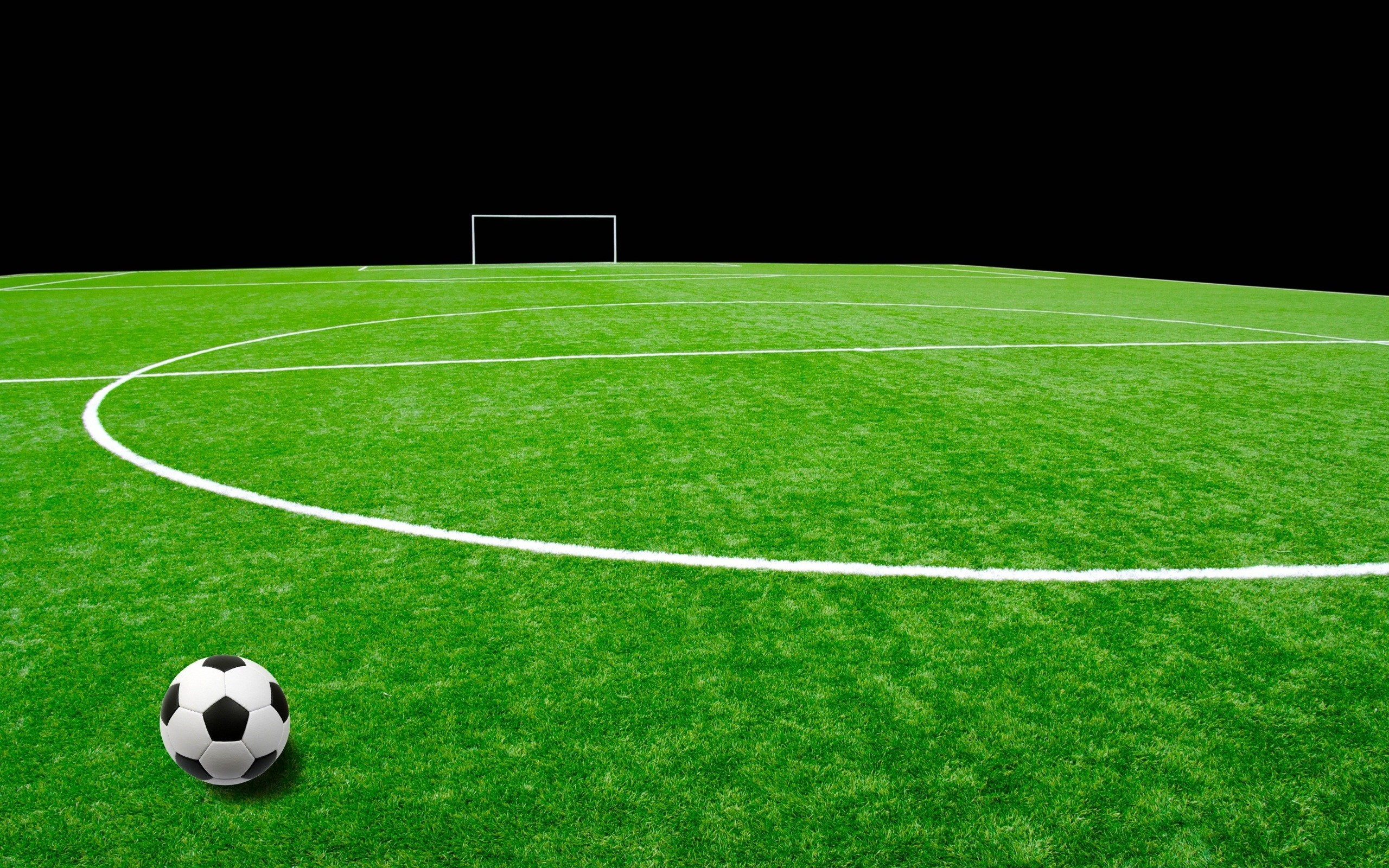 Sports – Soccer Ball Field Bakgrund