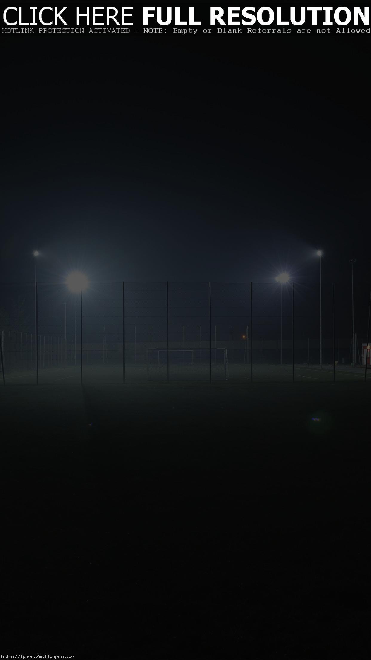 Soccer Field City Night Light Dark Android wallpaper – Android HD wallpapers