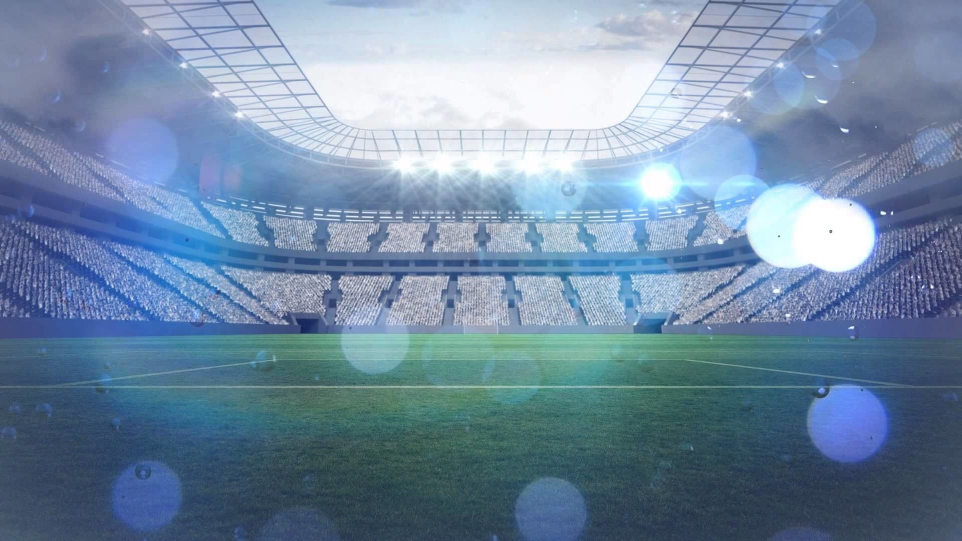 Soccer field Footbull Animated background YouTube #5009