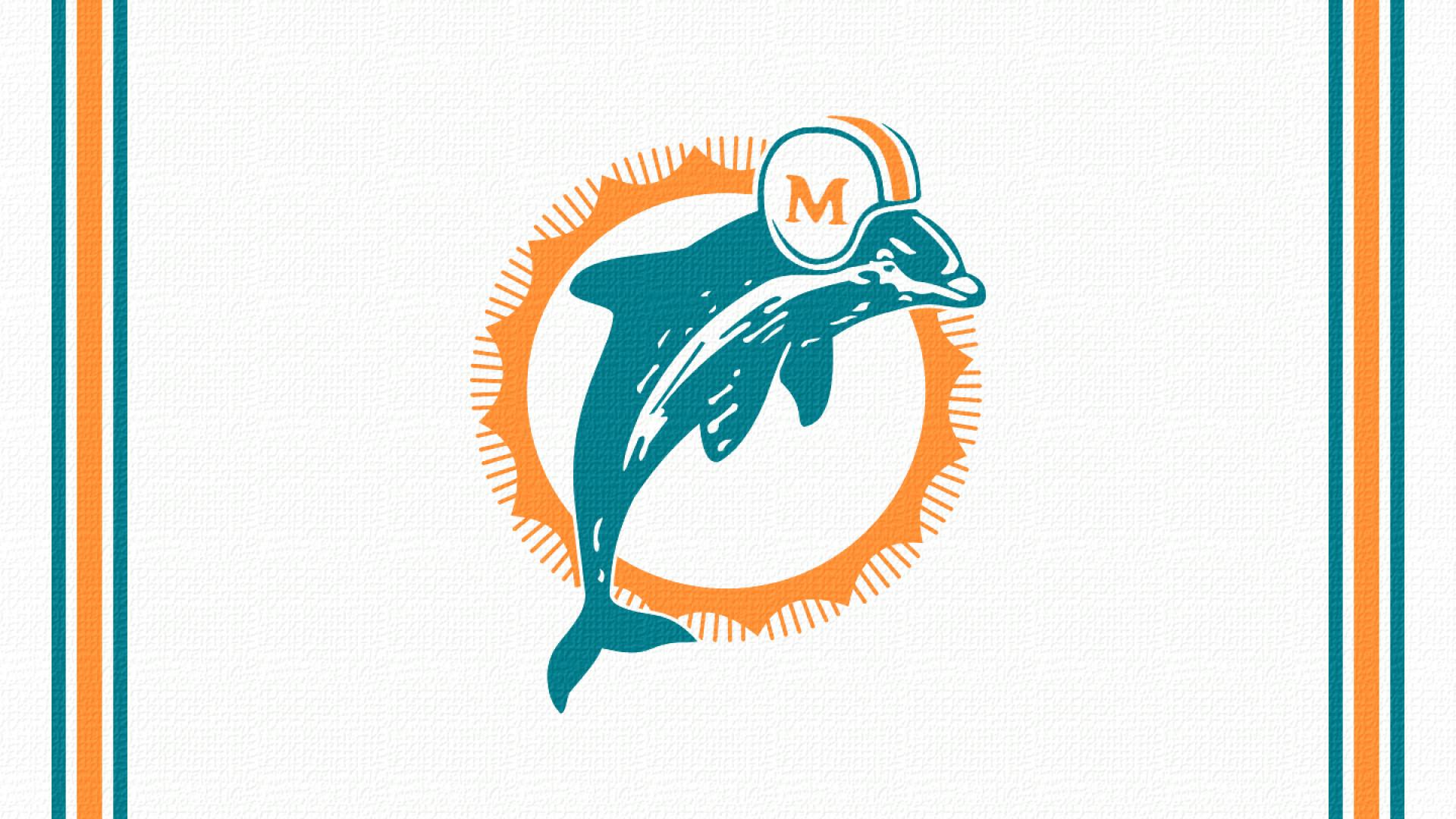 Miami Dolphins Logo, retro, HD Wallpaper and FREE Stock .