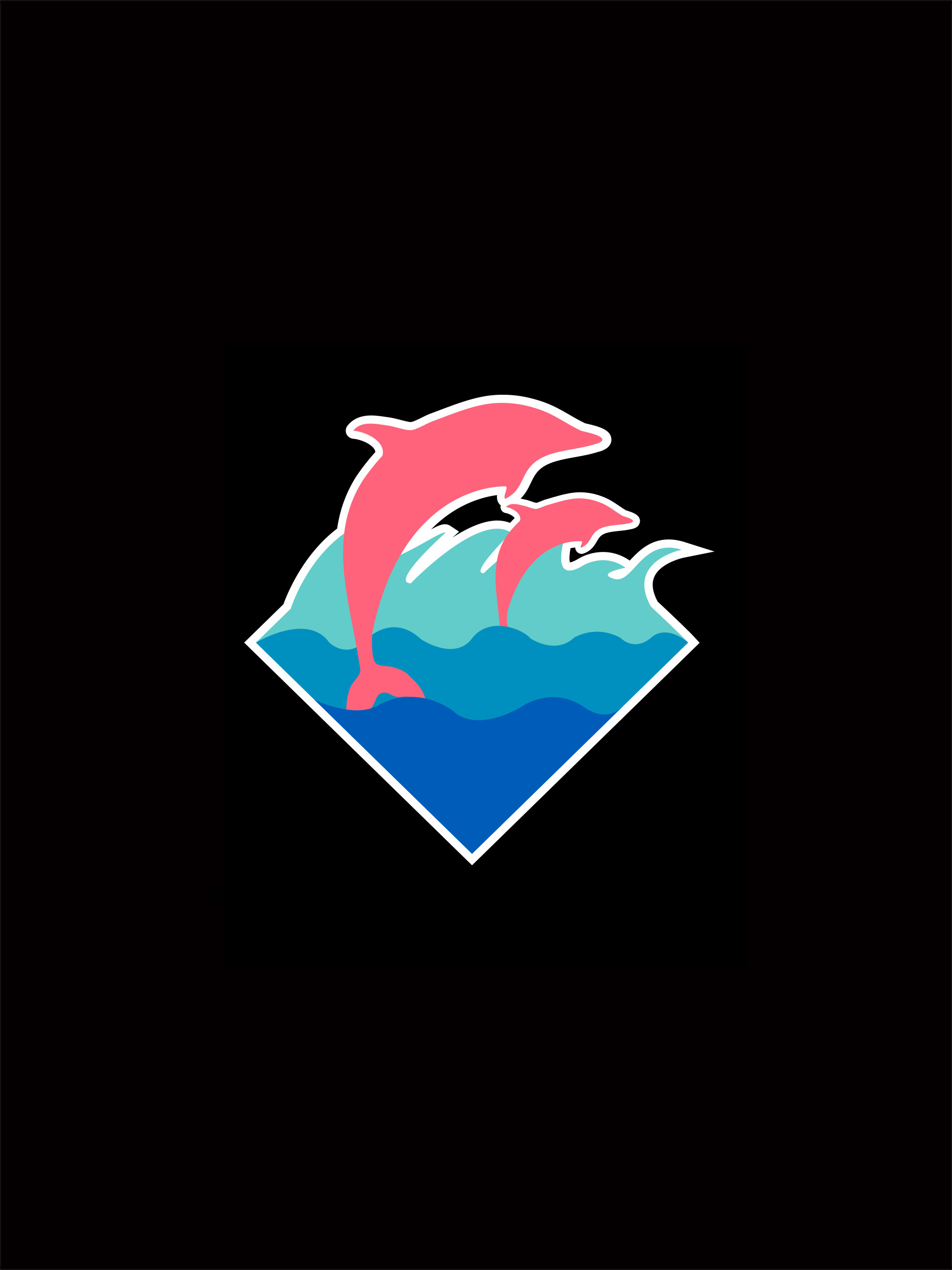 … pink dolphin wallpapers ozon4life …
