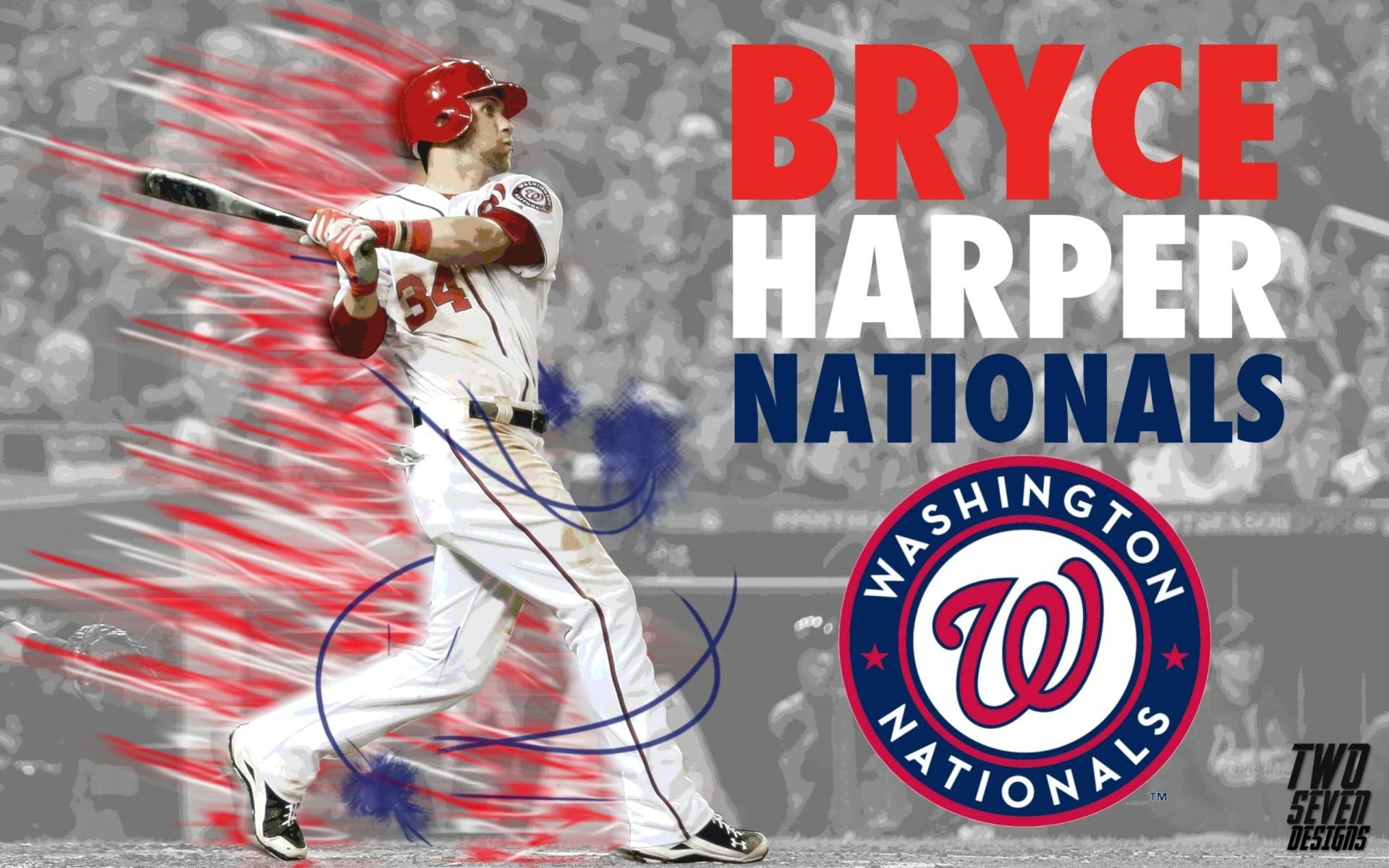 Washington Nationals Bryce Harper …
