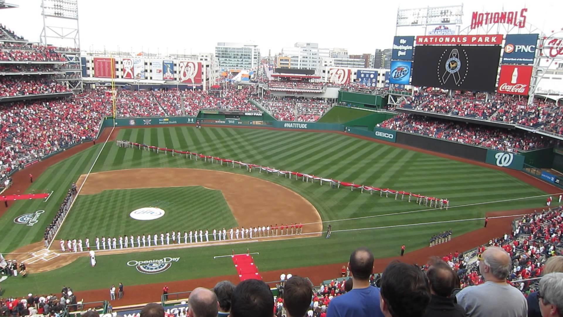 Washington Nationals Opening Day 2013