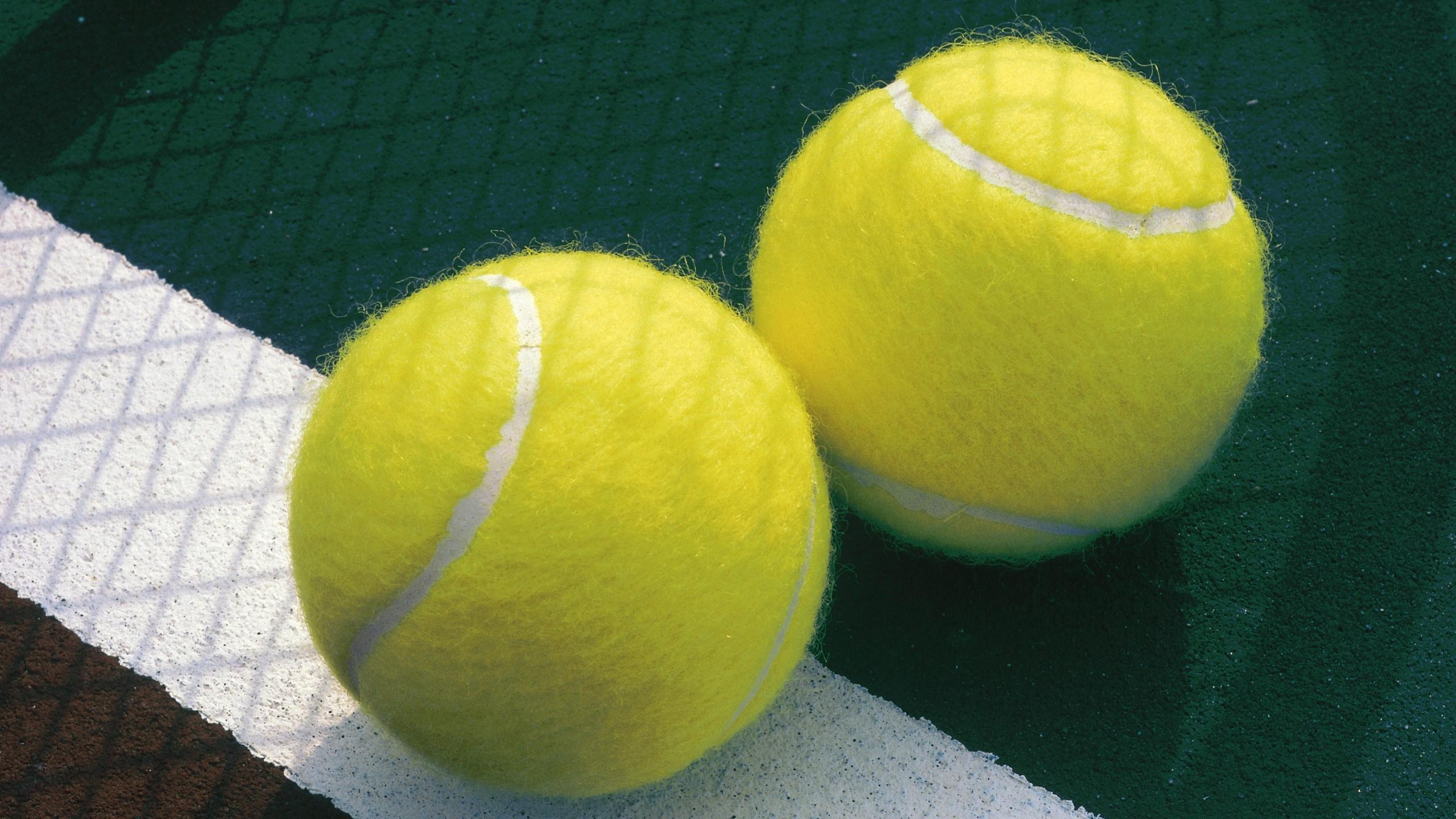 Preview wallpaper tennis, balls, sports 2560×1440