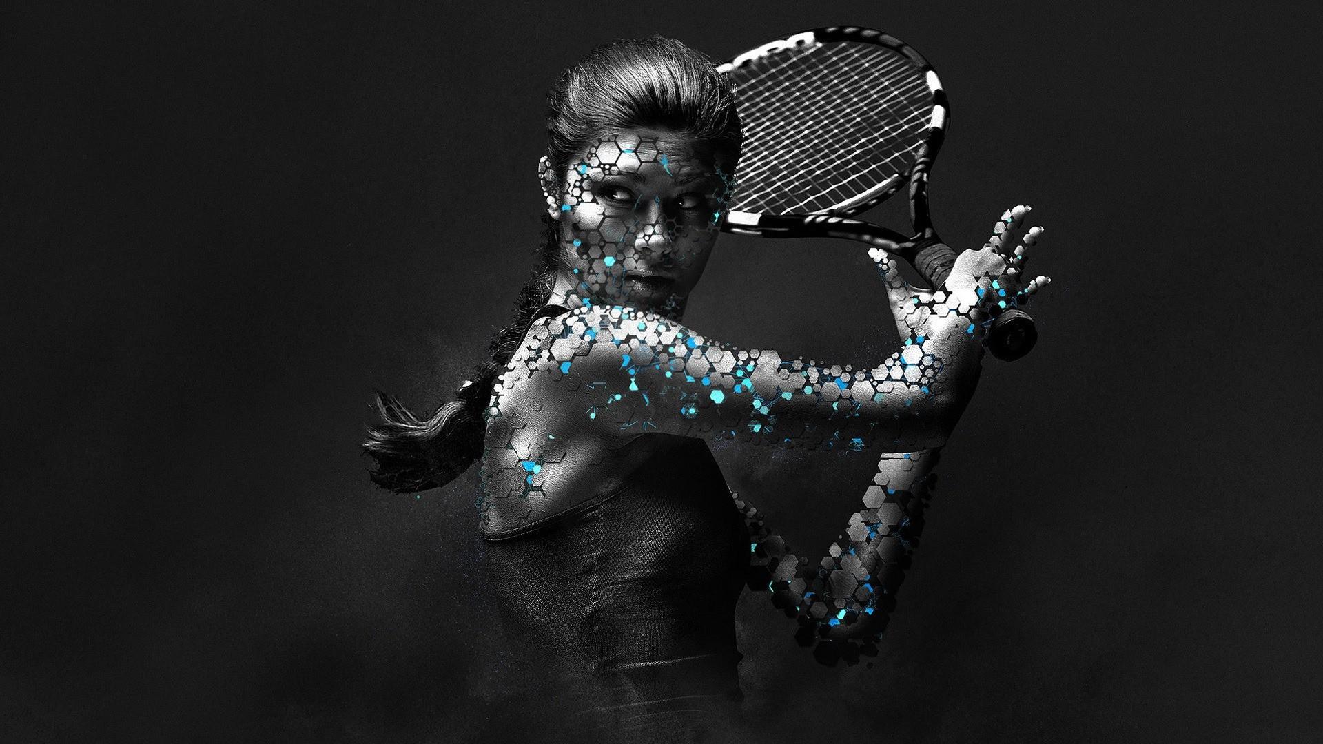 Woman Tennis Player 1080p HD Wallpaper Sports