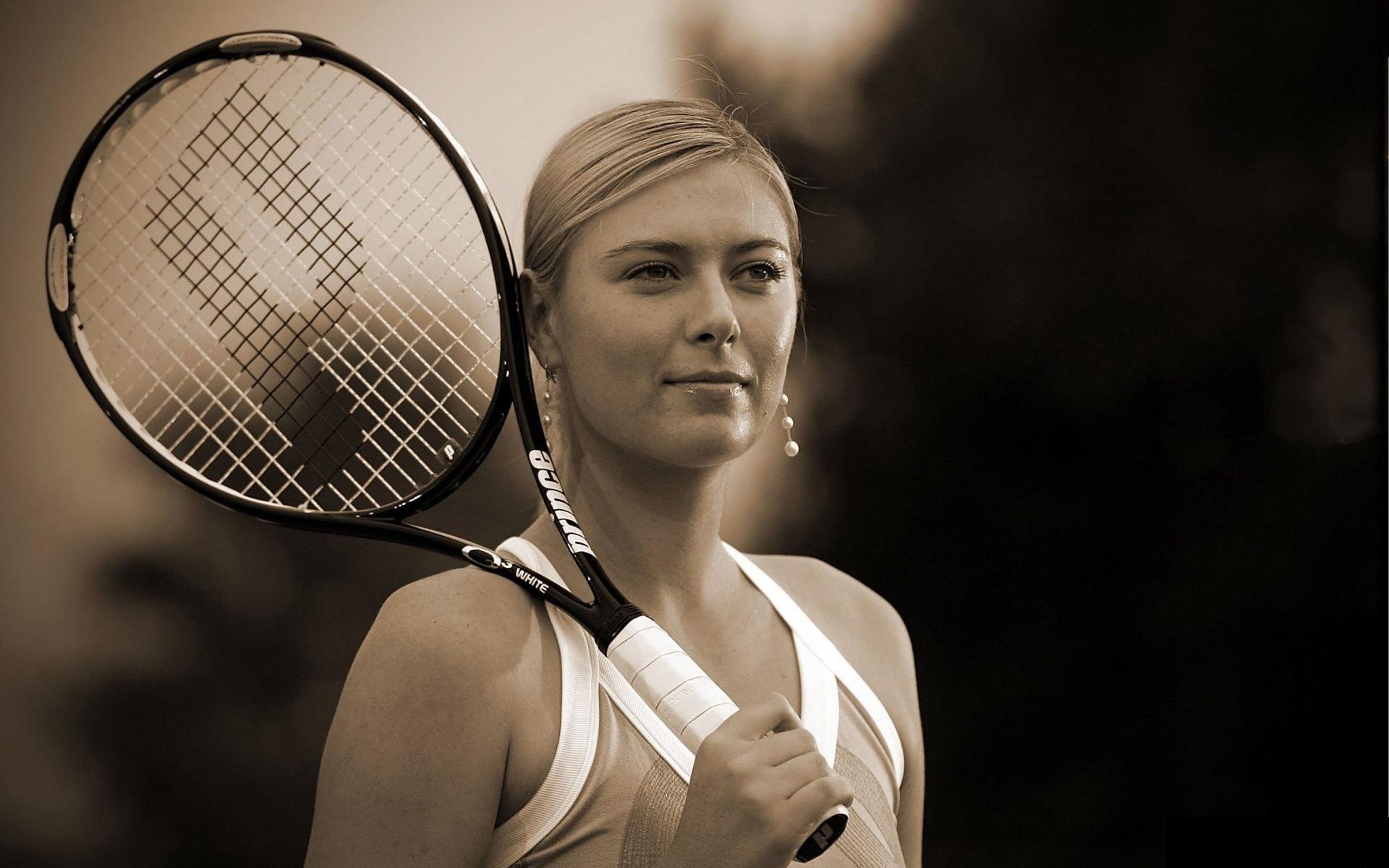 Maria-Sharapova-Black-and-White-Tennis-Wallpaper-HD.jpg (1920×1200)   Tennis    Pinterest   Sharapova tennis, Maria sharapova and Tennis