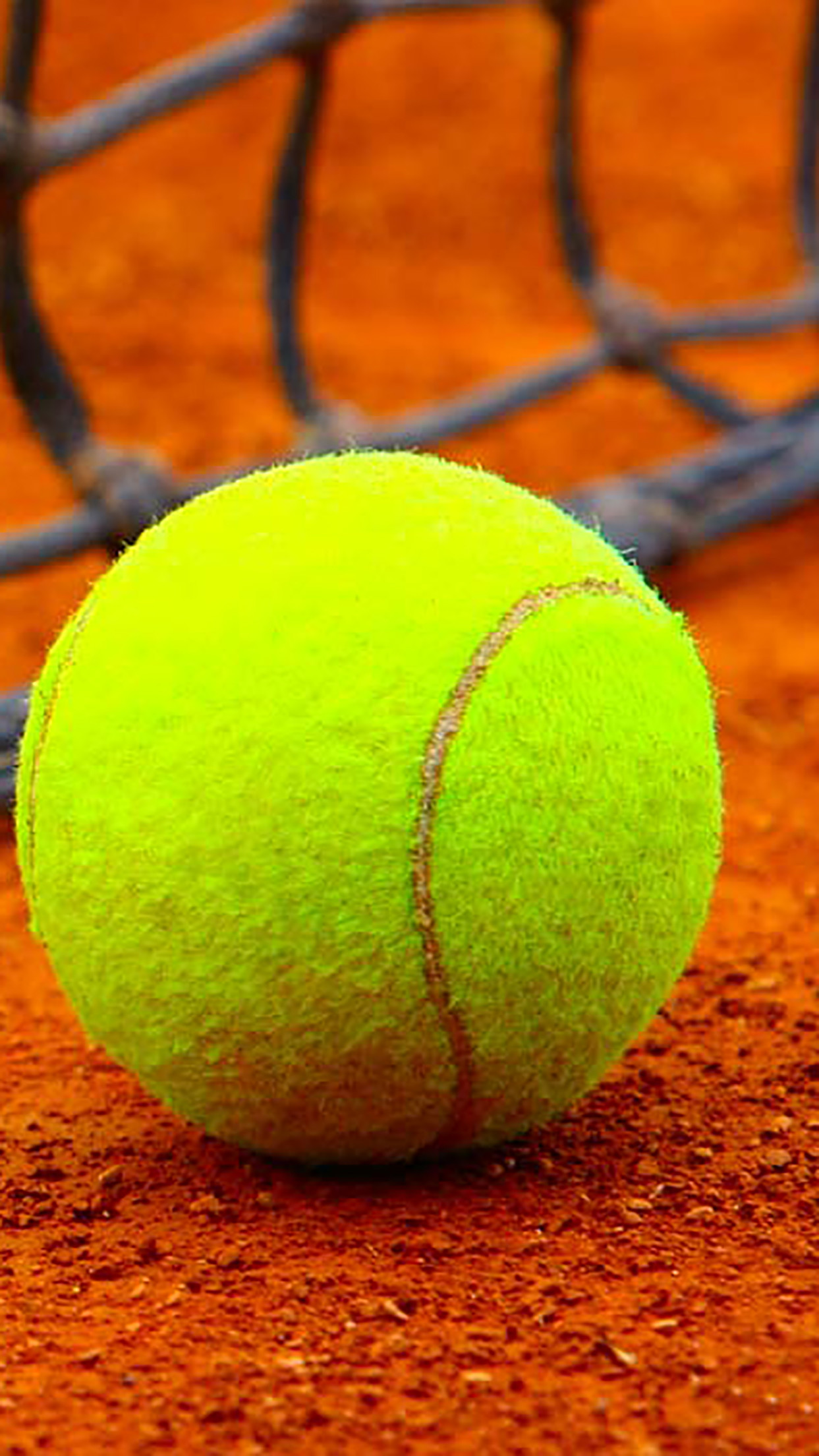 Tennis-Ball-On-The-Ground-3Wallpapers-iPhone-Parallax