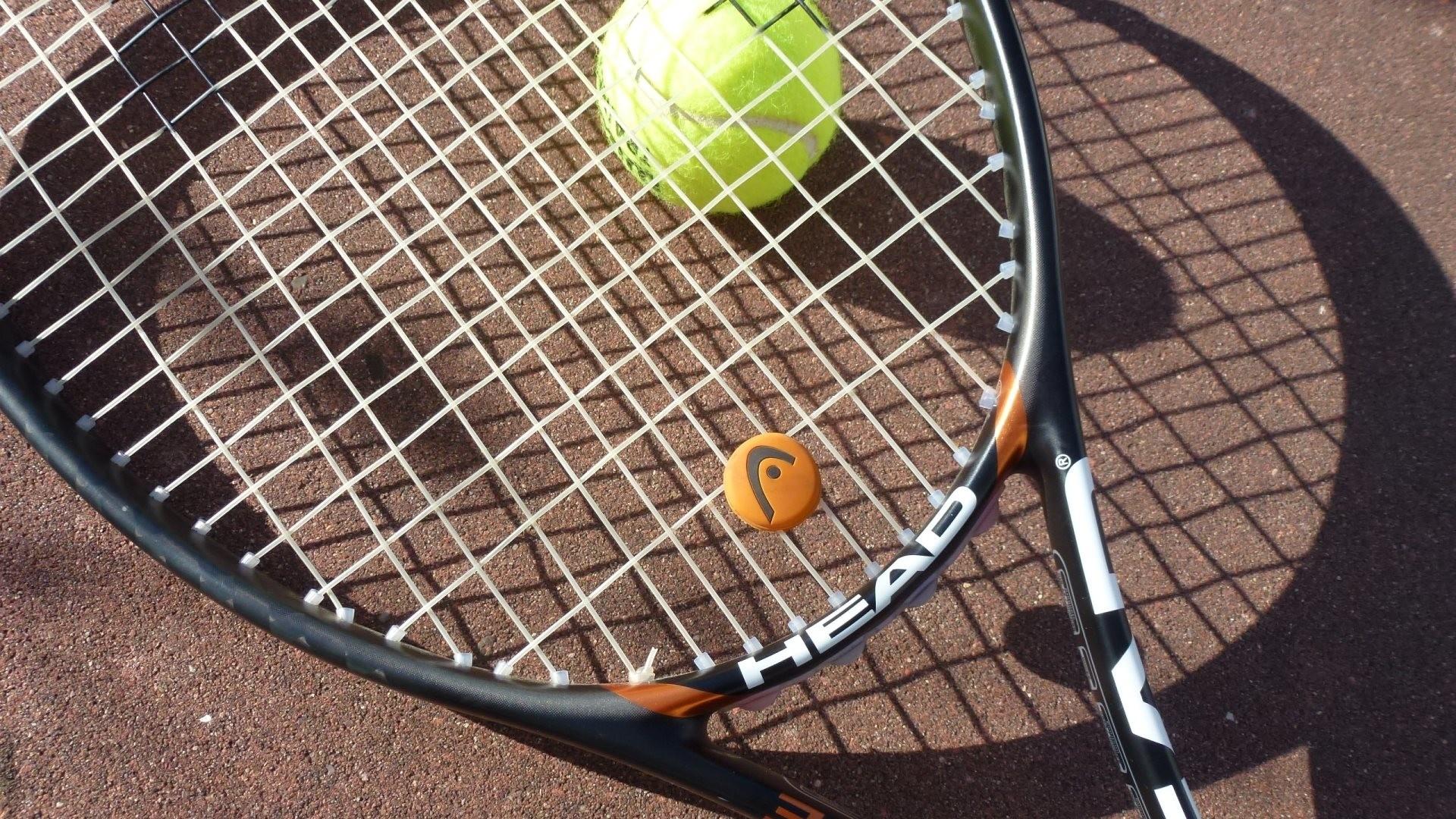 HD Wallpaper 3: Tennis Racket and Tennis Ball