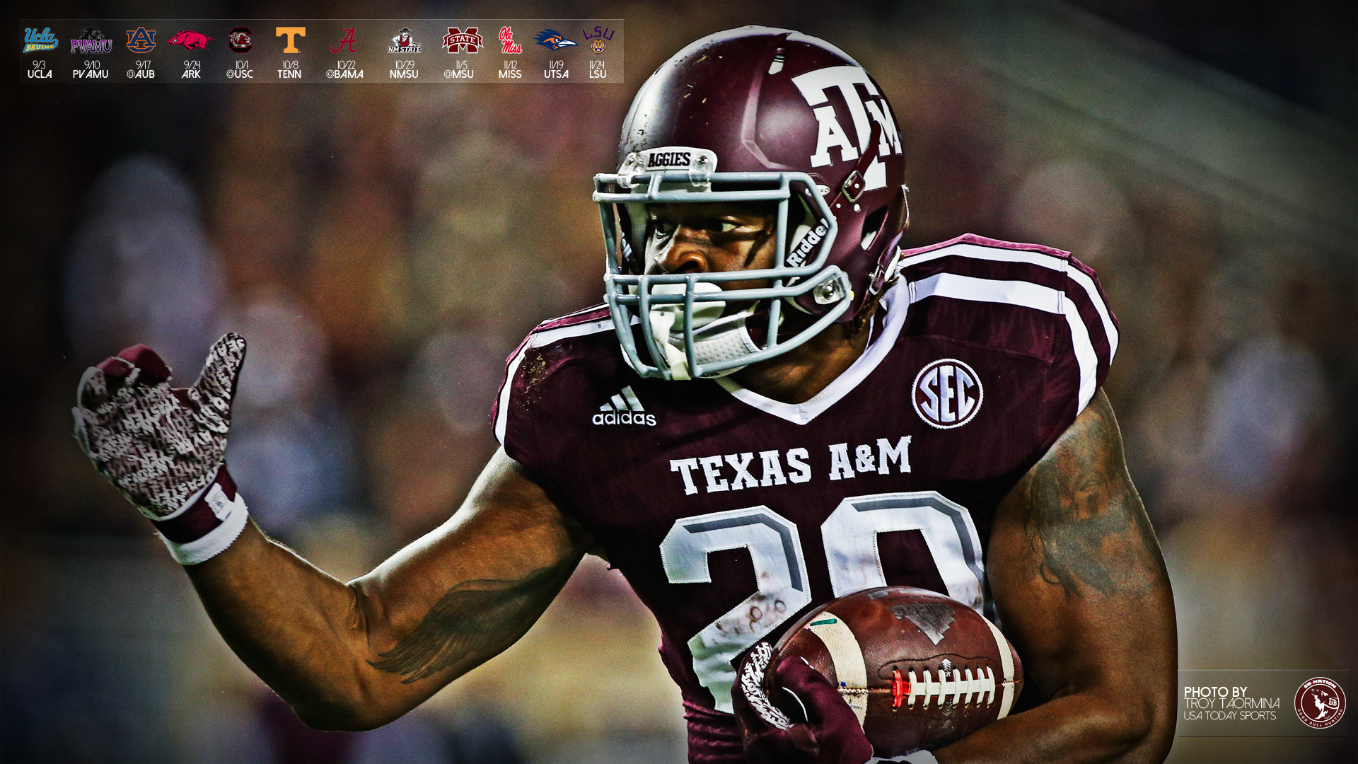 2016 Aggie Football Wallpapers