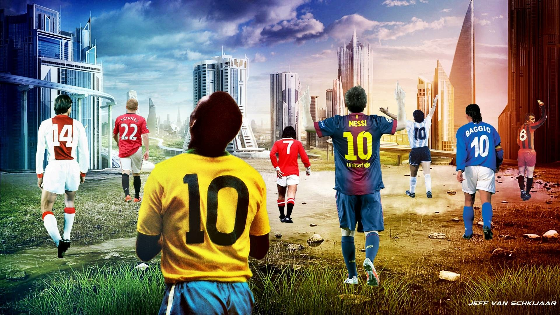 Best Football Players Of All Time Wallpaper by jeffery10 on DeviantArt