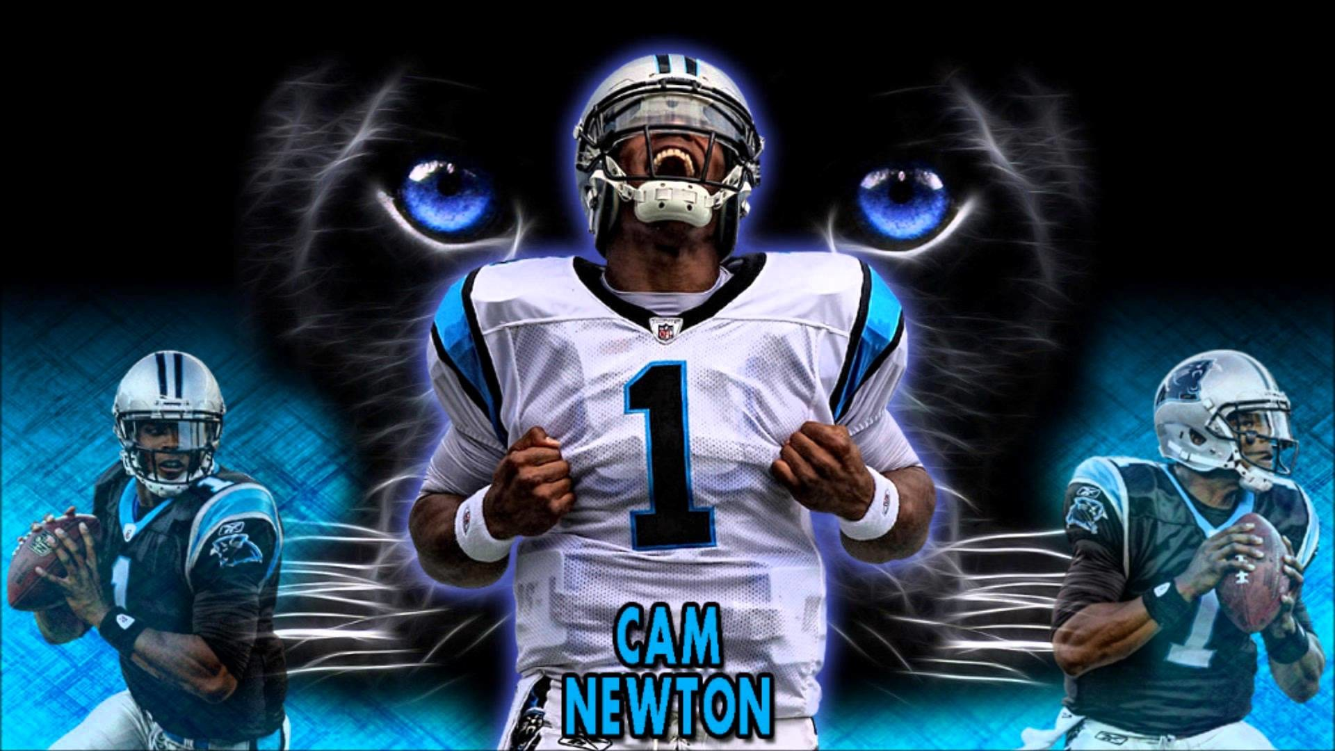 FREE NFL Cam Newton Wallpaper by youtube.com