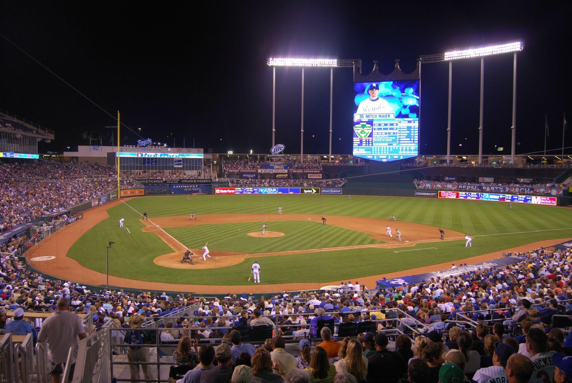 … Kansas City Royals · Page 871 Kauffman Stadium Panoramic