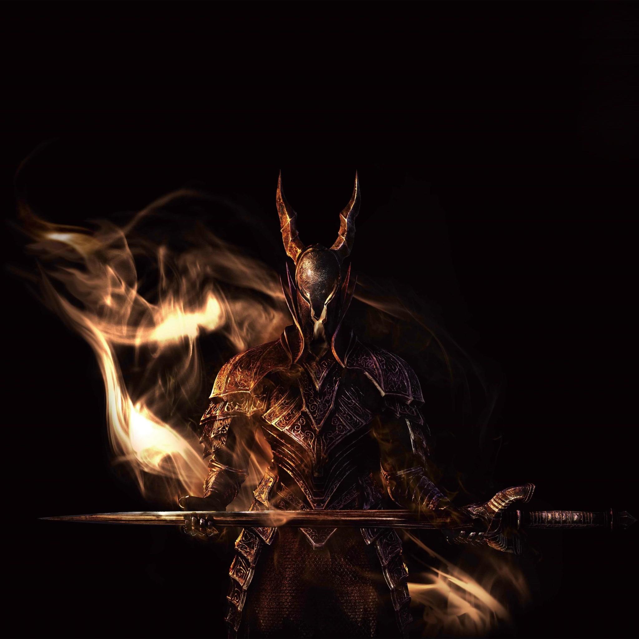 5927 4: Black Knight Dark Souls iPad wallpaper