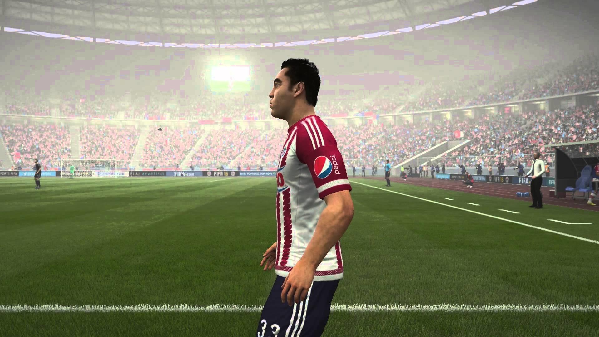 FIFA 16   CHIVAS DE GUADALAJARA   CARAS / PLAYER FACES
