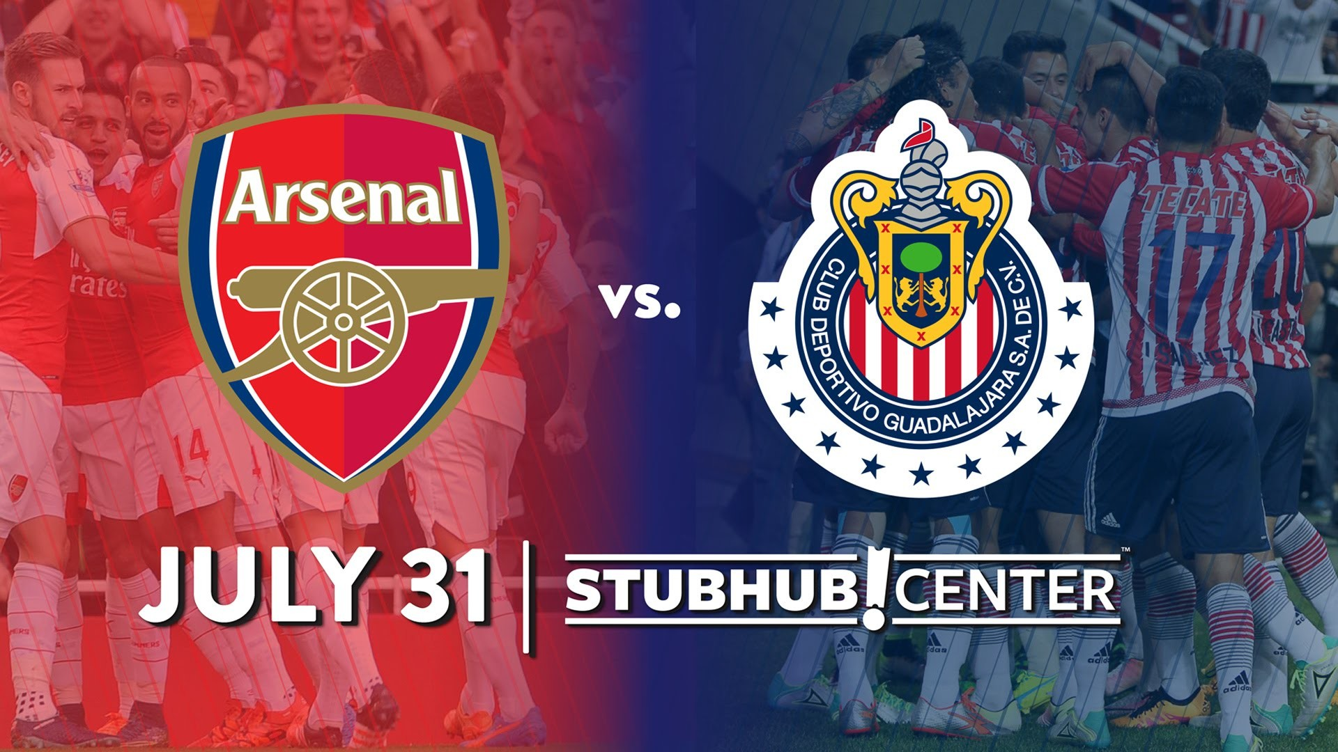 Chivas Guadalajara   July 31, 2016   StubHub Center – YouTube