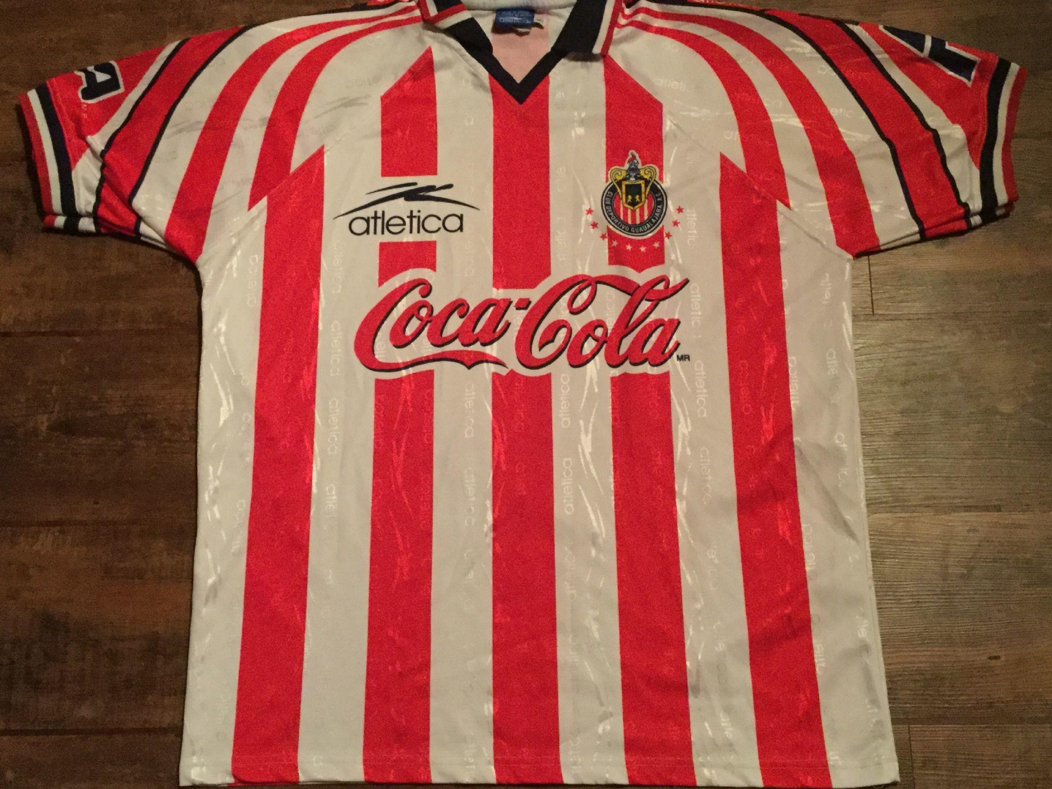 1998 Chivas Guadalajara Football Shirt Adults XL