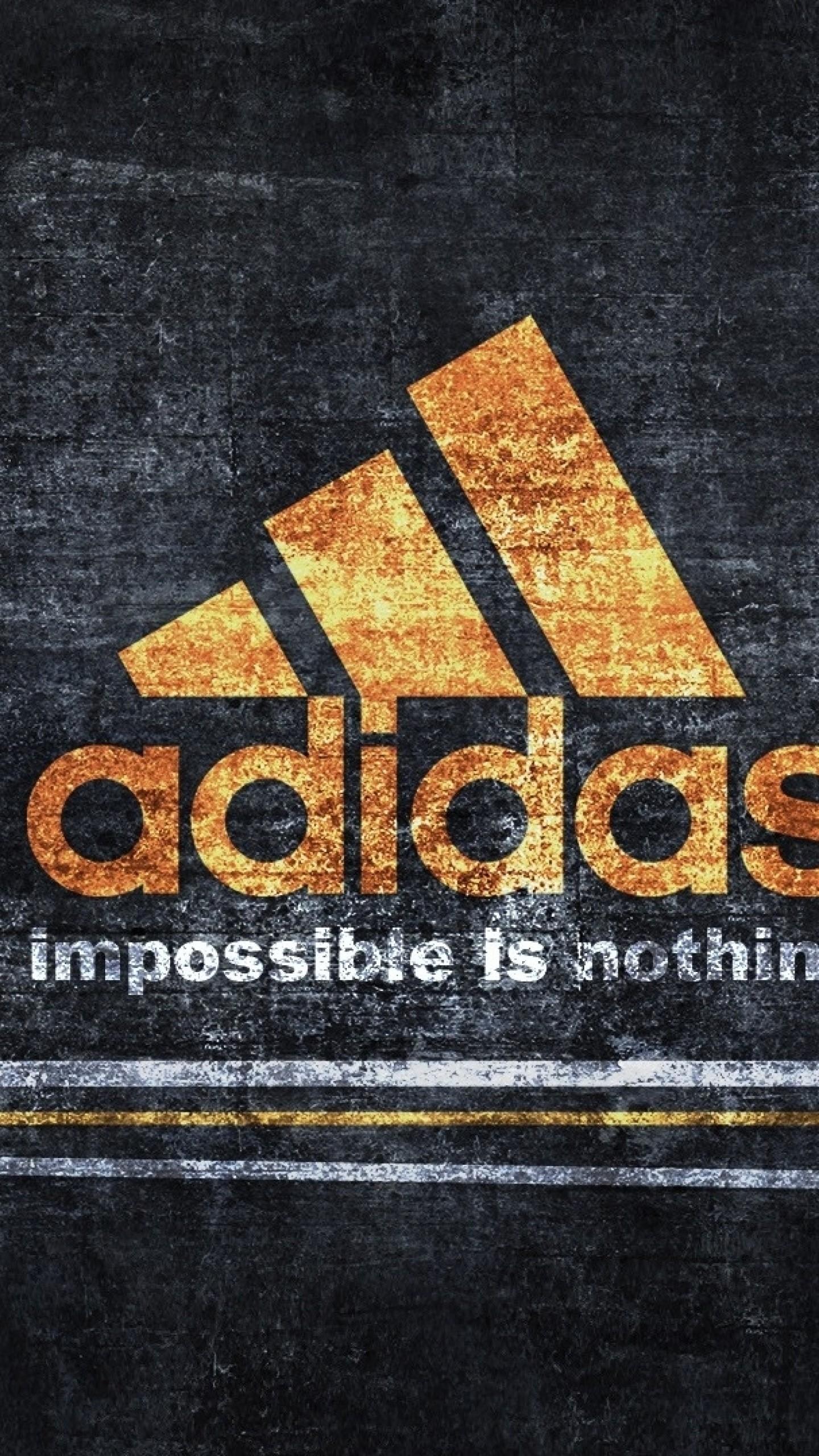 Preview wallpaper adidas, logo, sport 1440×2560