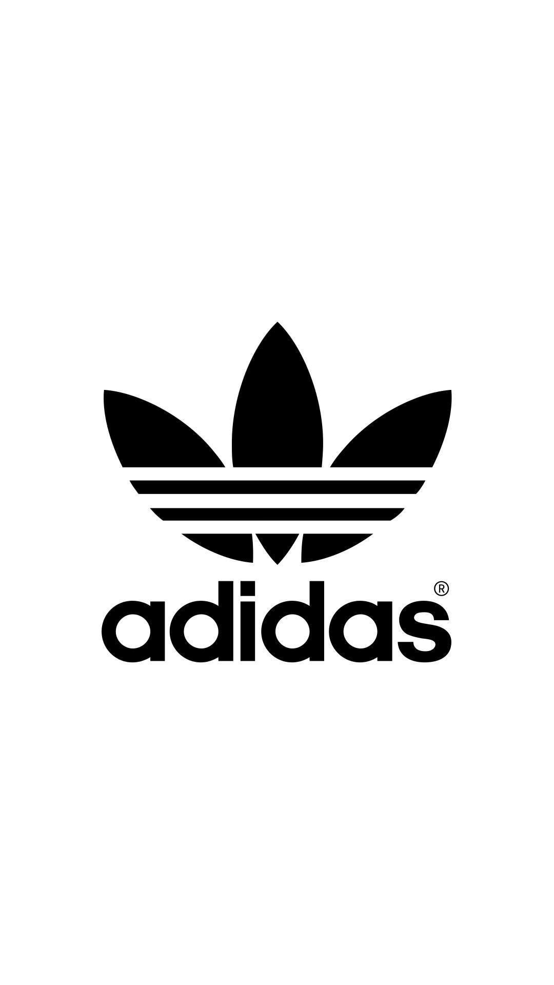 adidas Logo iPhone Wallpaper