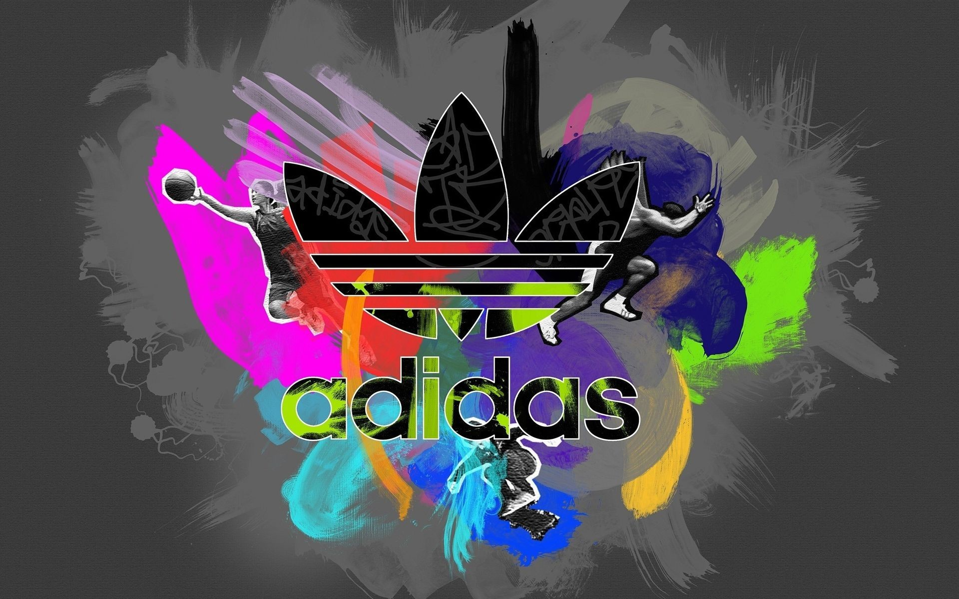 Colorful Adidas Logo wallpapers and images – wallpapers, pictures .