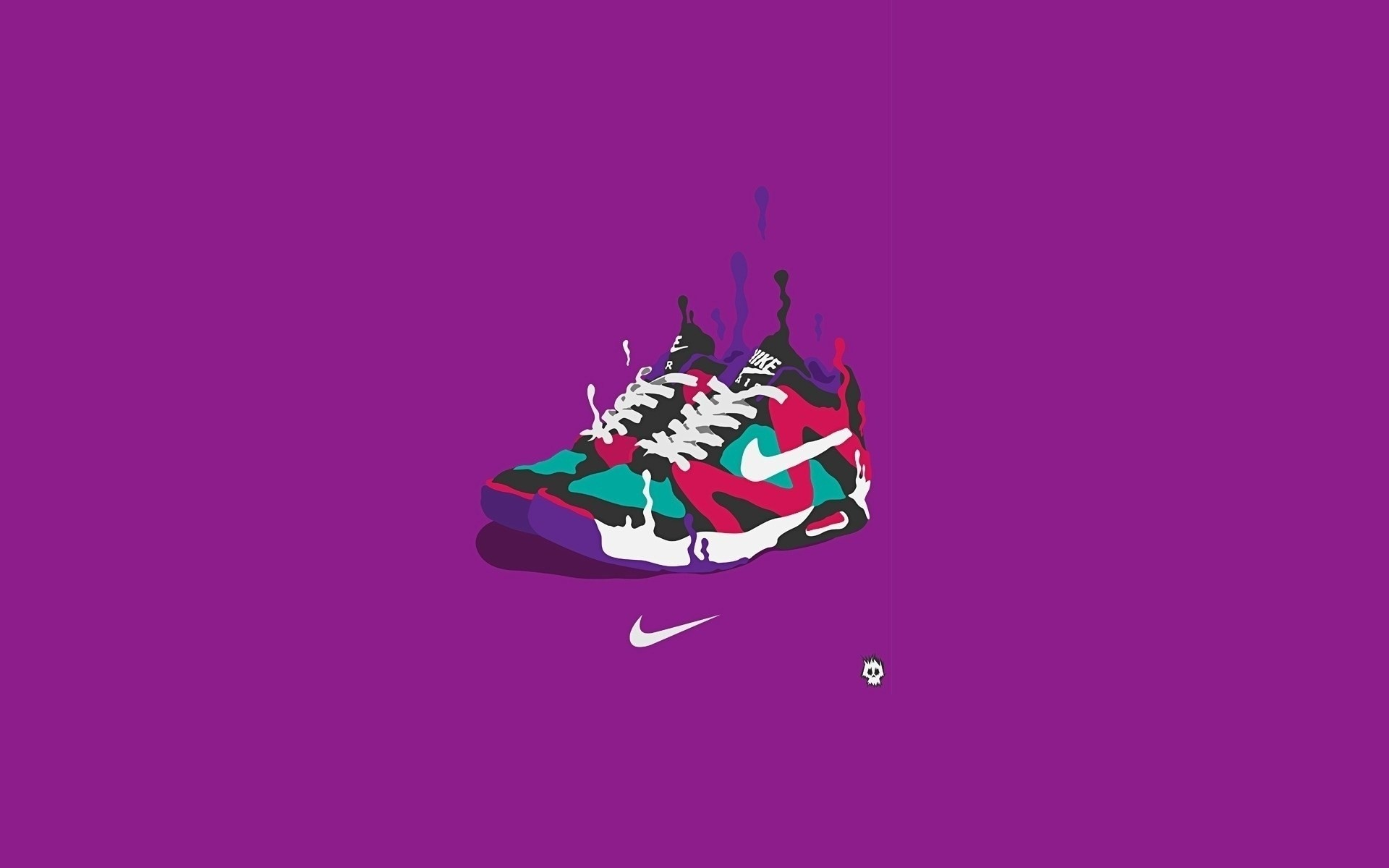 Find out: Nike Basketball Shoes Art wallpaper on hdpicorner.com/.