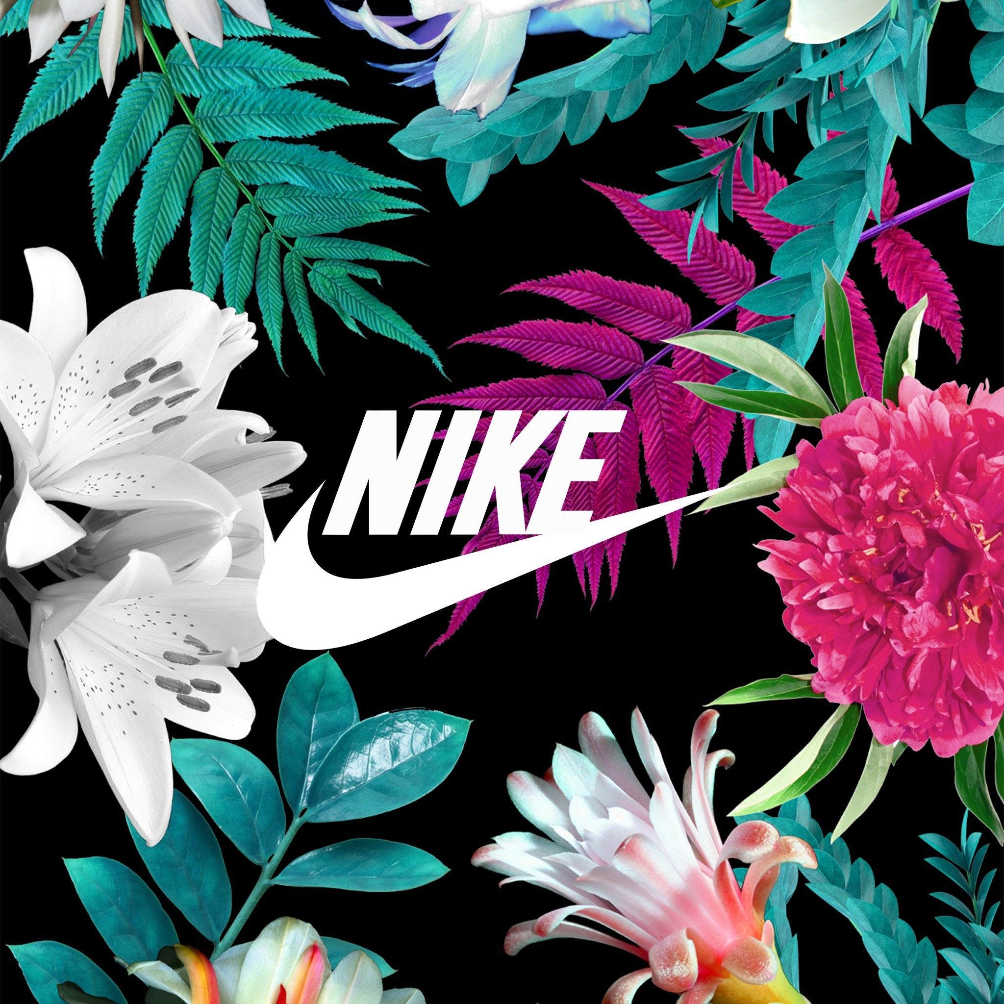 Nike with them flowers 🕶