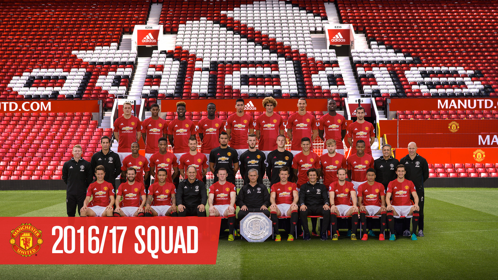Download official Manchester United team photo wallpaper – Official Manchester  United Website