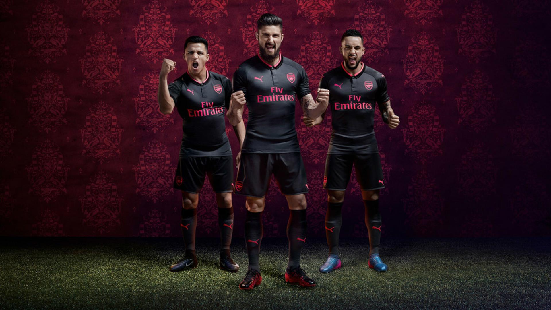 Arsenal Third Kit 2017-18