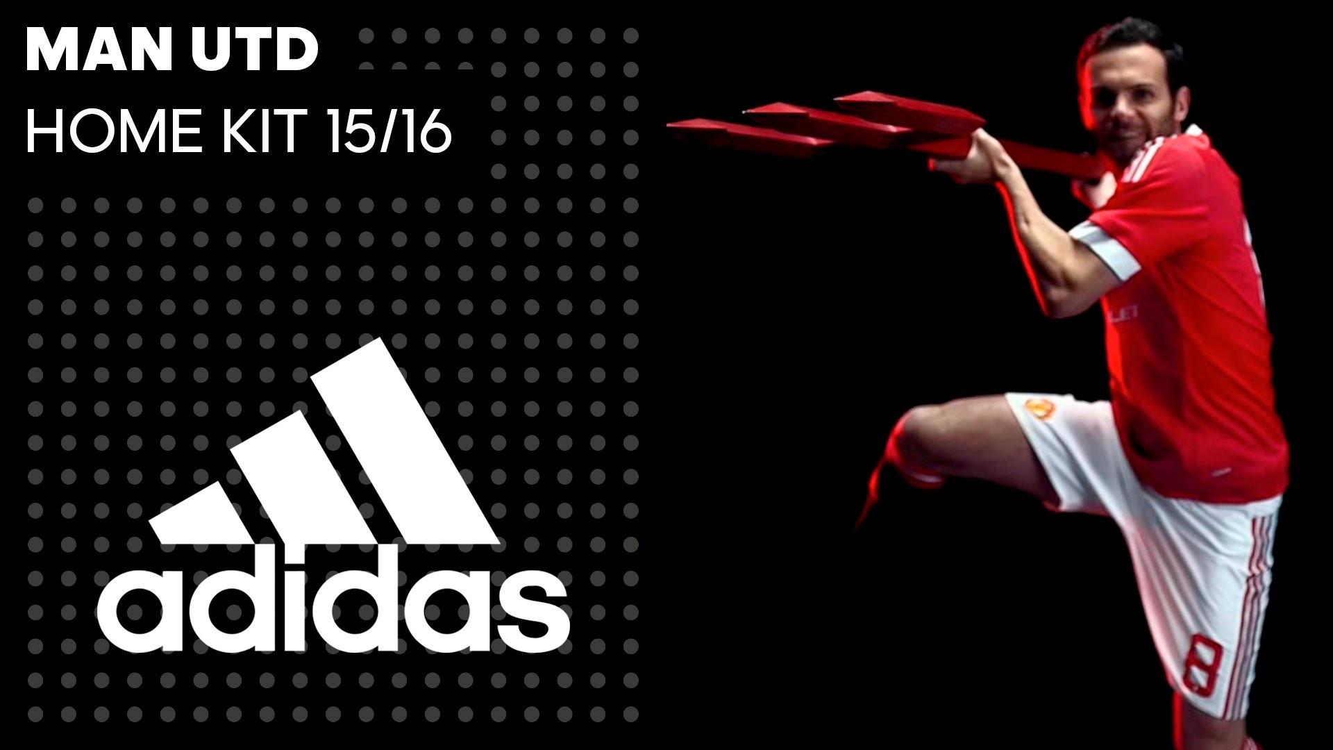 Man Utd Home Kit 2015/16 — Break Expectations — adidas Football – YouTube