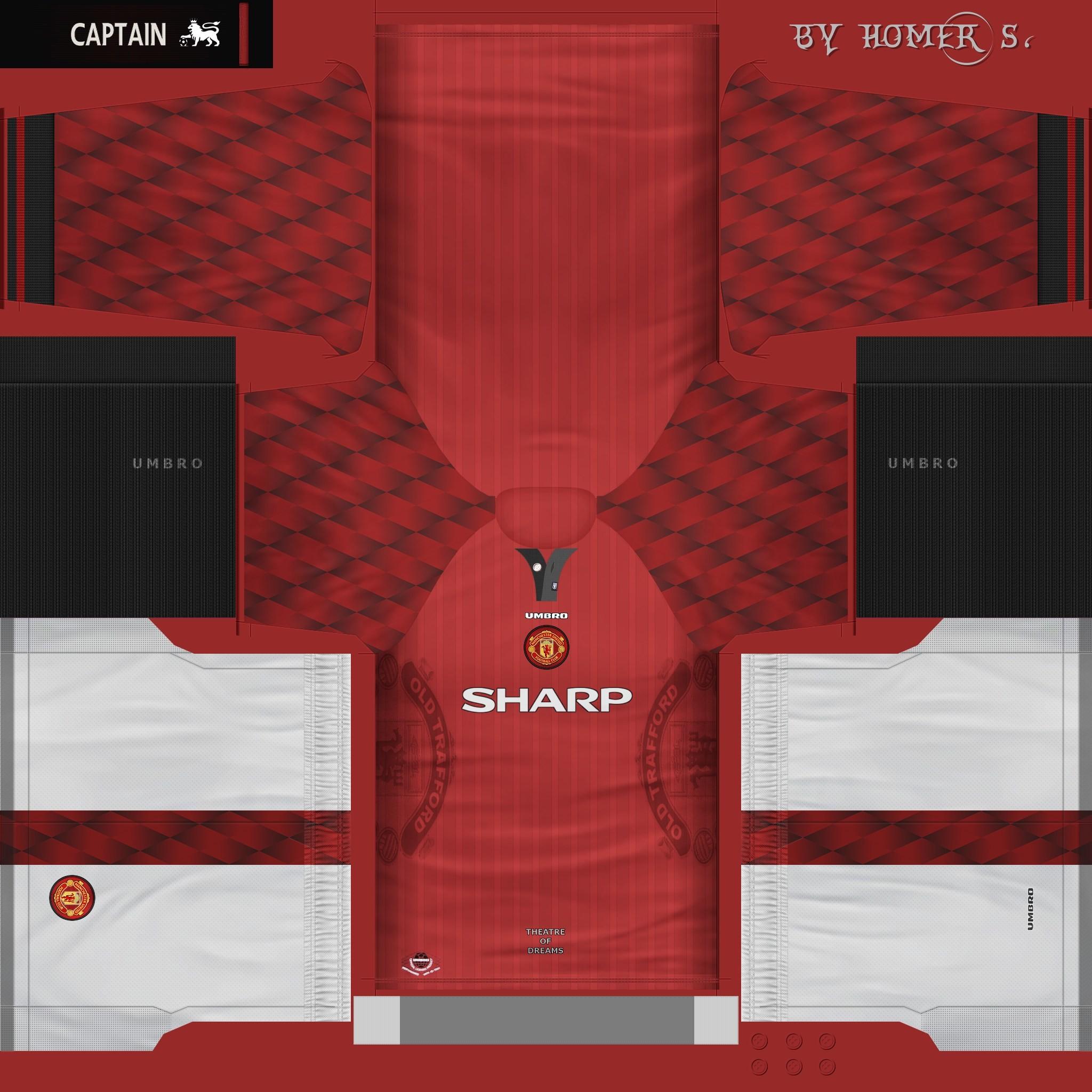 Download Man United Sharp Kit PES2016 by homer