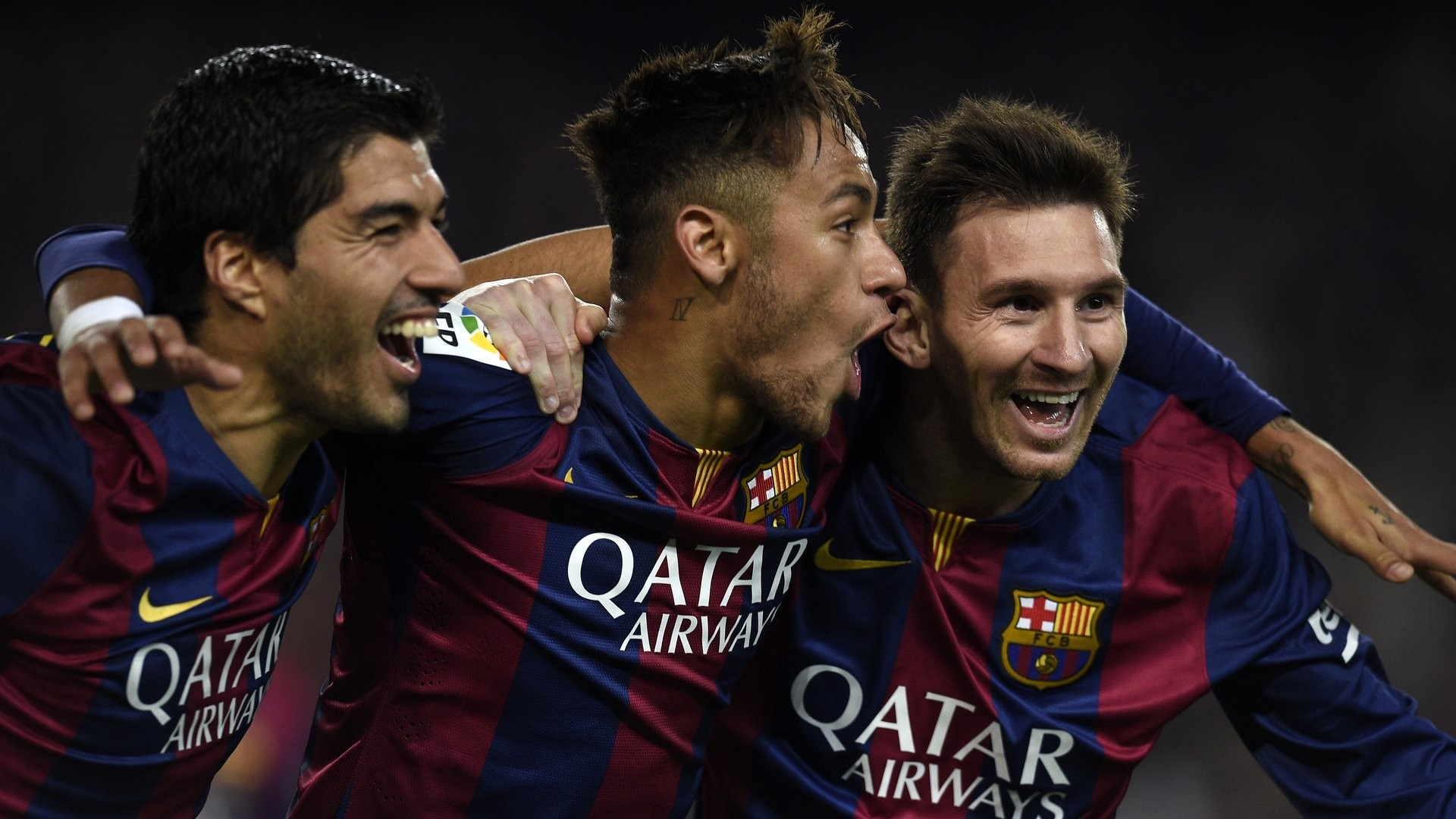 """""""Some said we wouldn't get along well, but I knew they were wrong,"""" Neymar  told the official Barcelona website."""